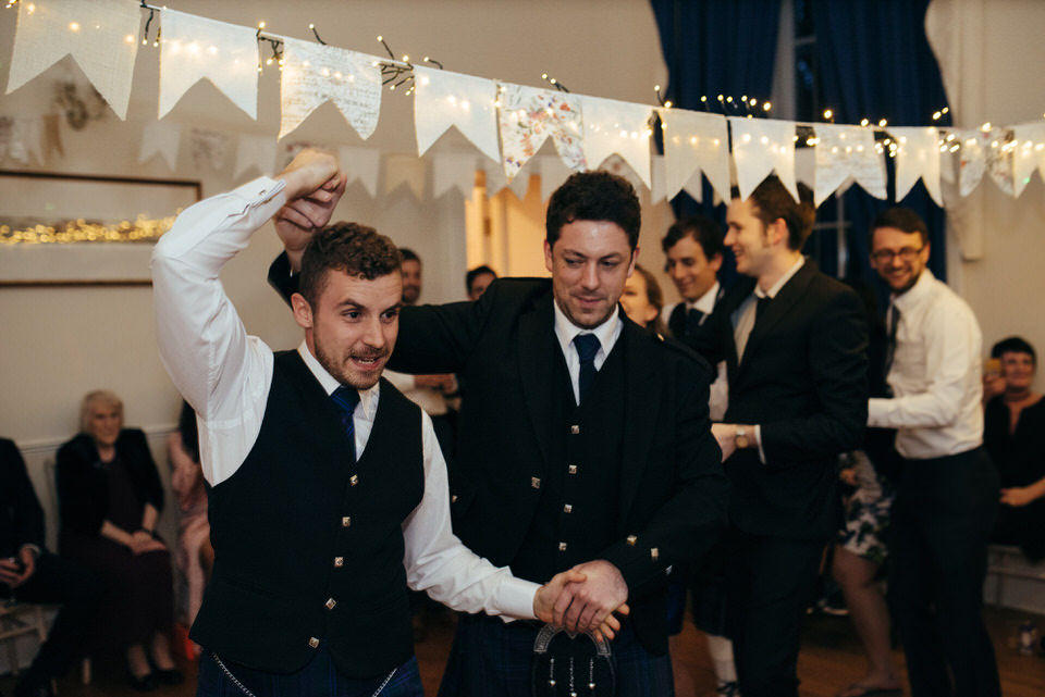 Wedding celidh