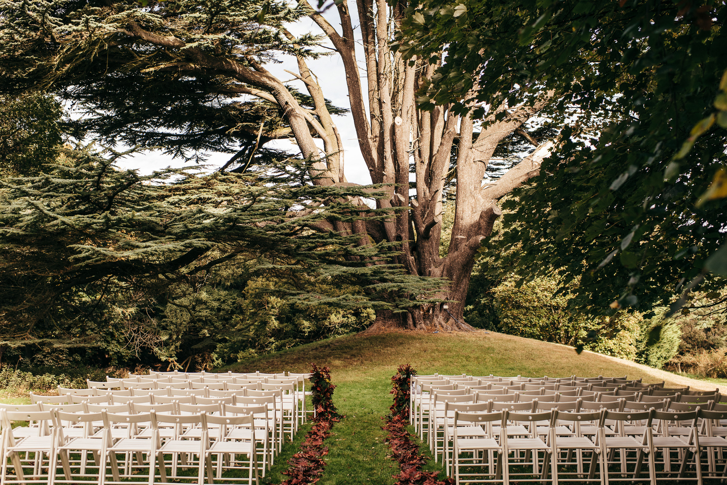 Outdoor Autumn Wedding Scotland