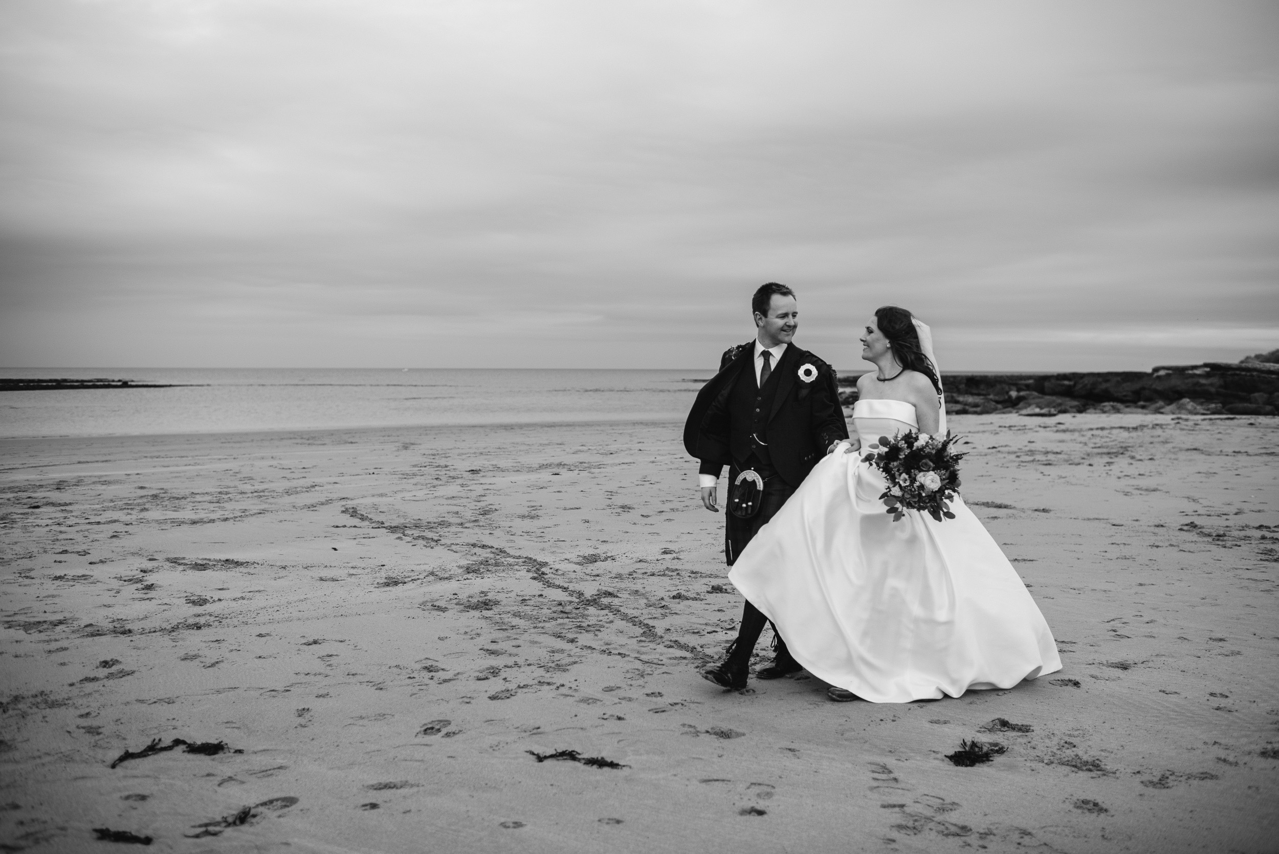 Broxmouth Park Beach Wedding