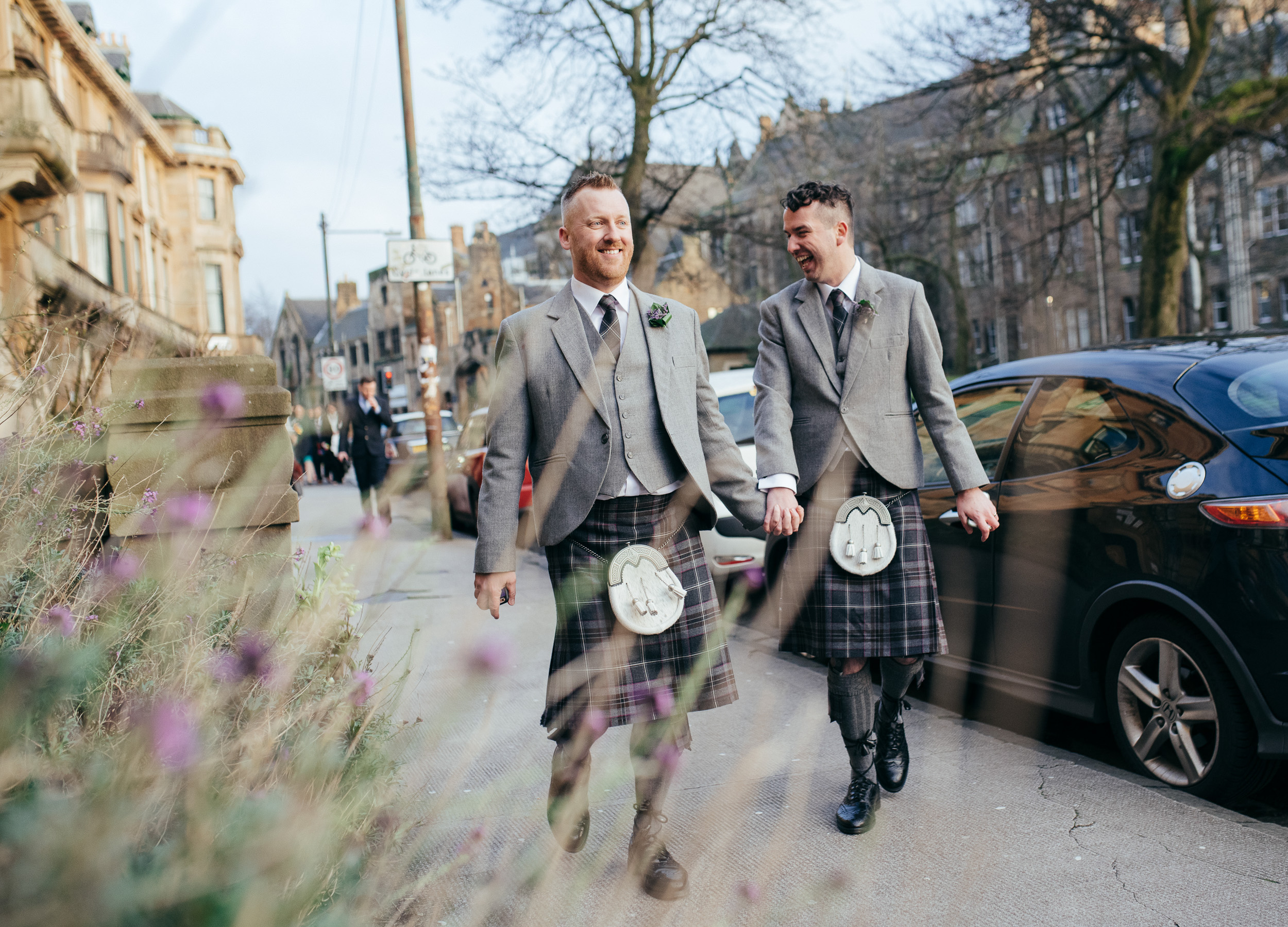 Same sex wedding photographer Scotland