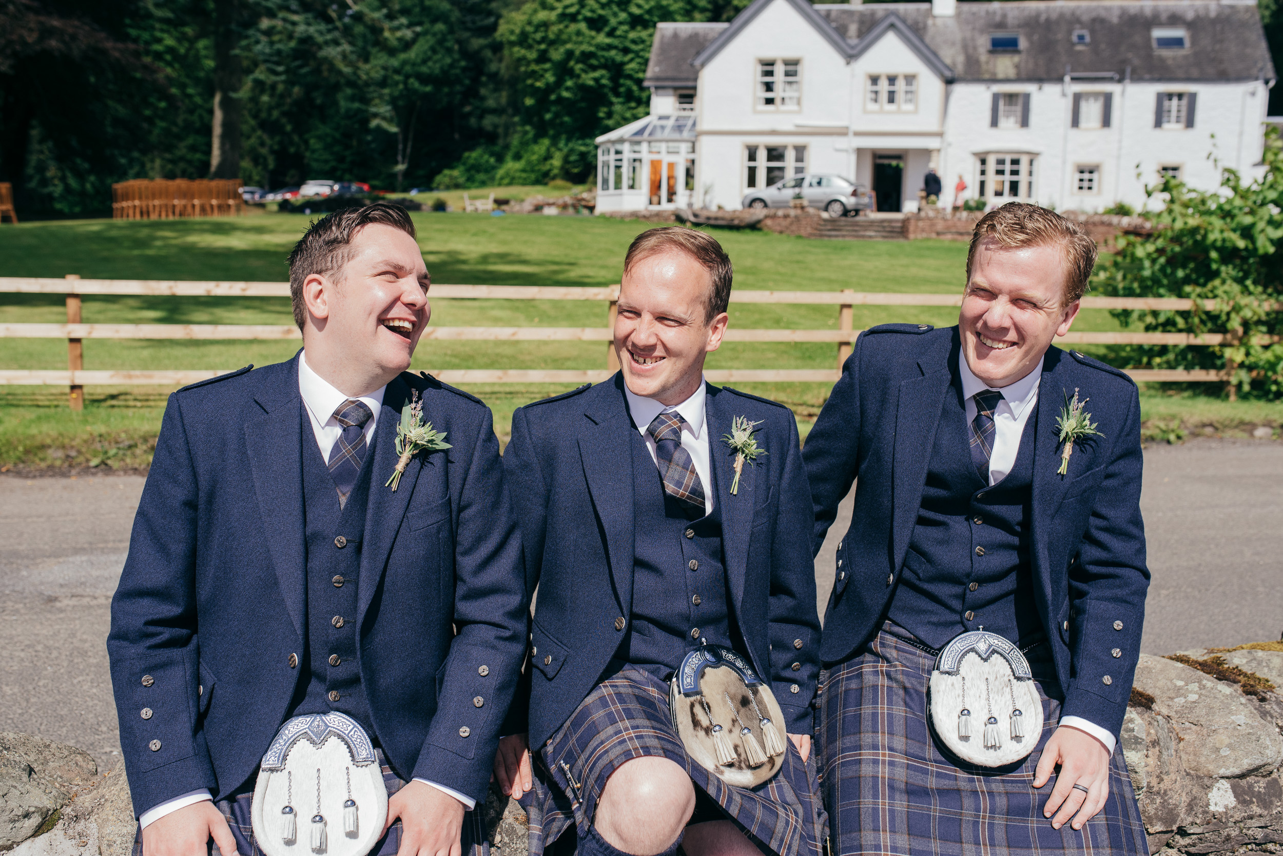 Altskeith House Wedding