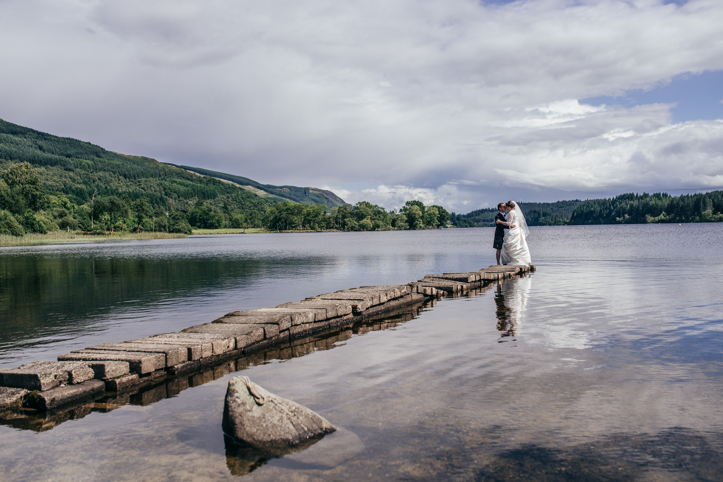 Altskeith Pier Wedding