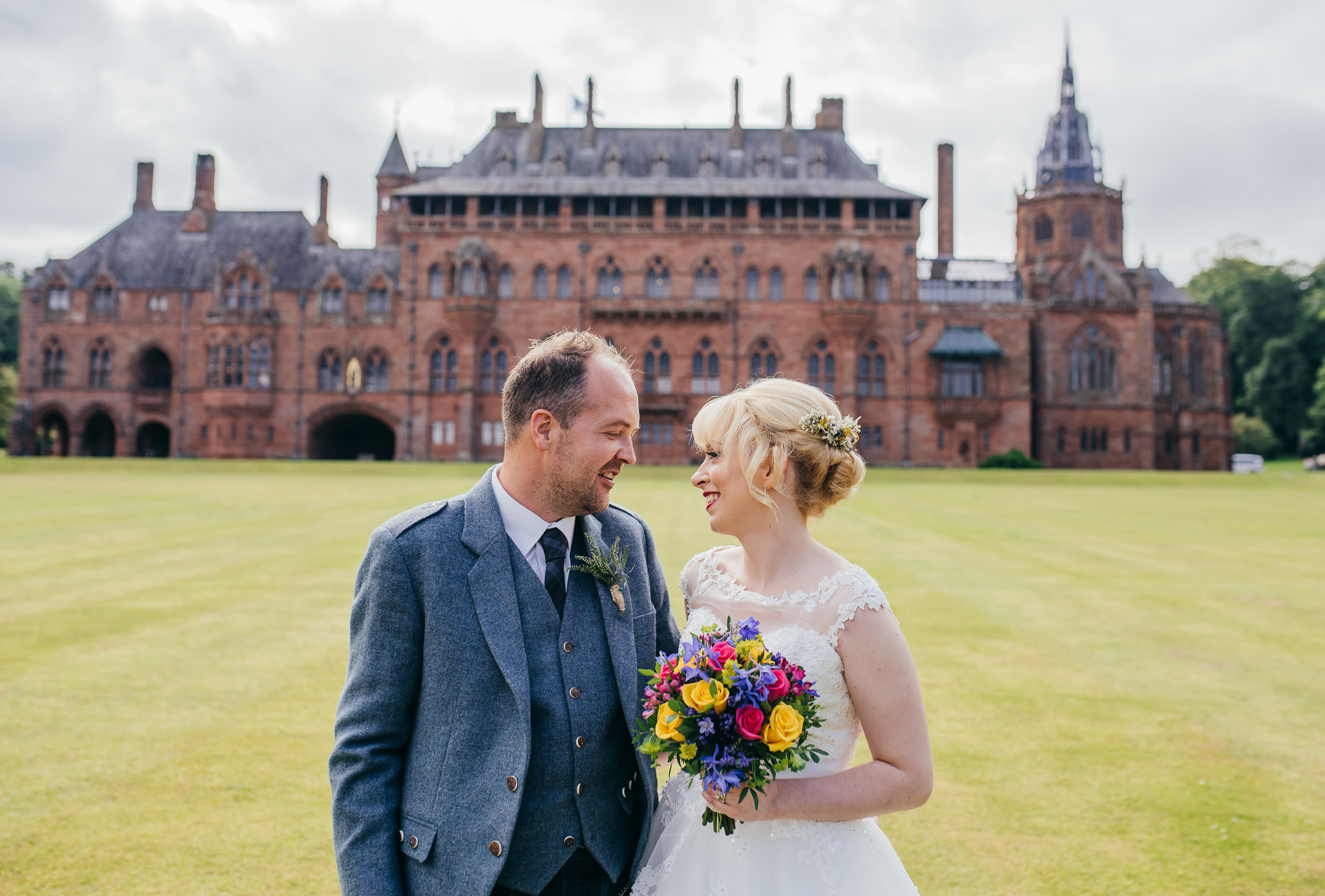 Mount Stuart Wedding Photographer