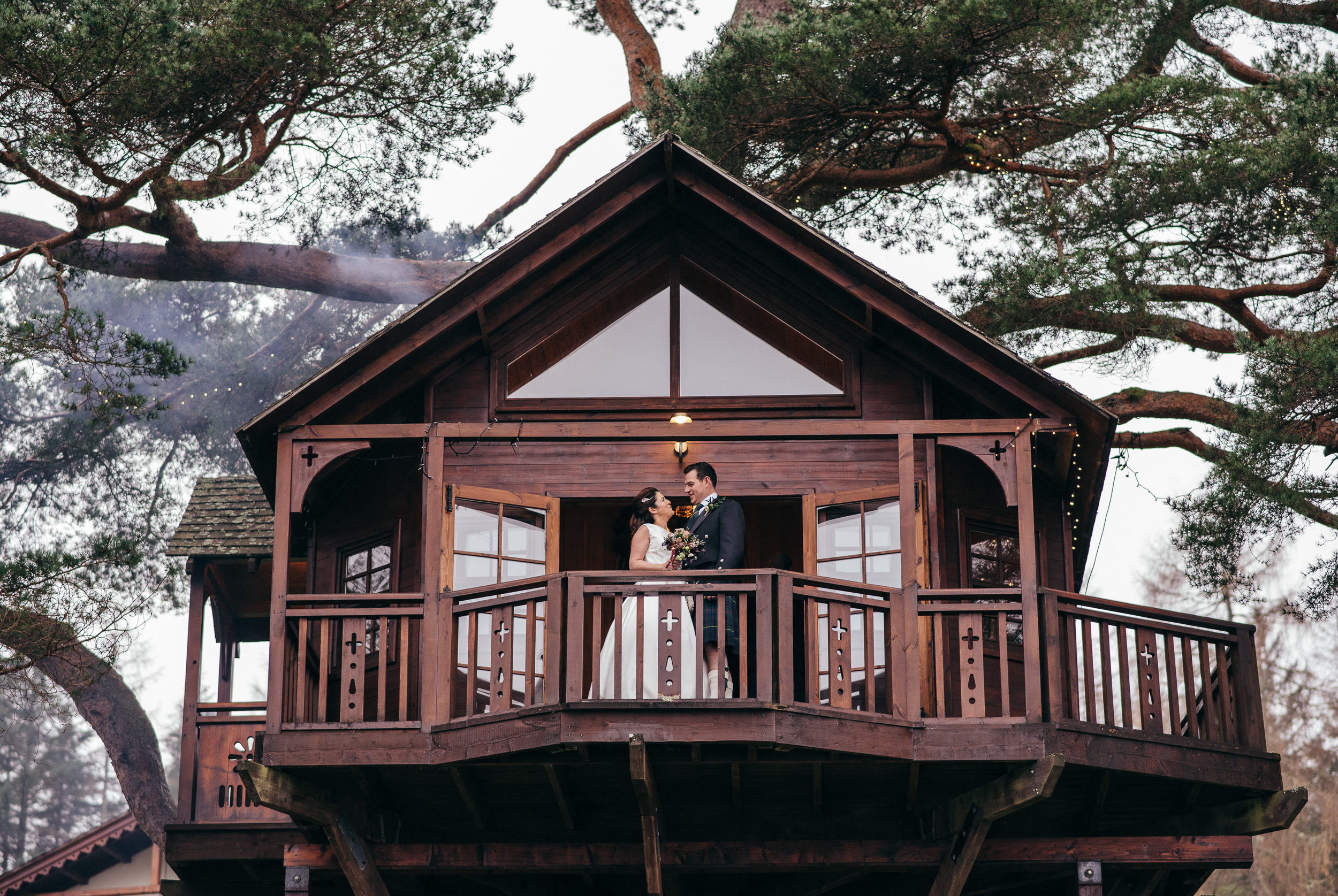 Treehouse Lodge on Loch Goil