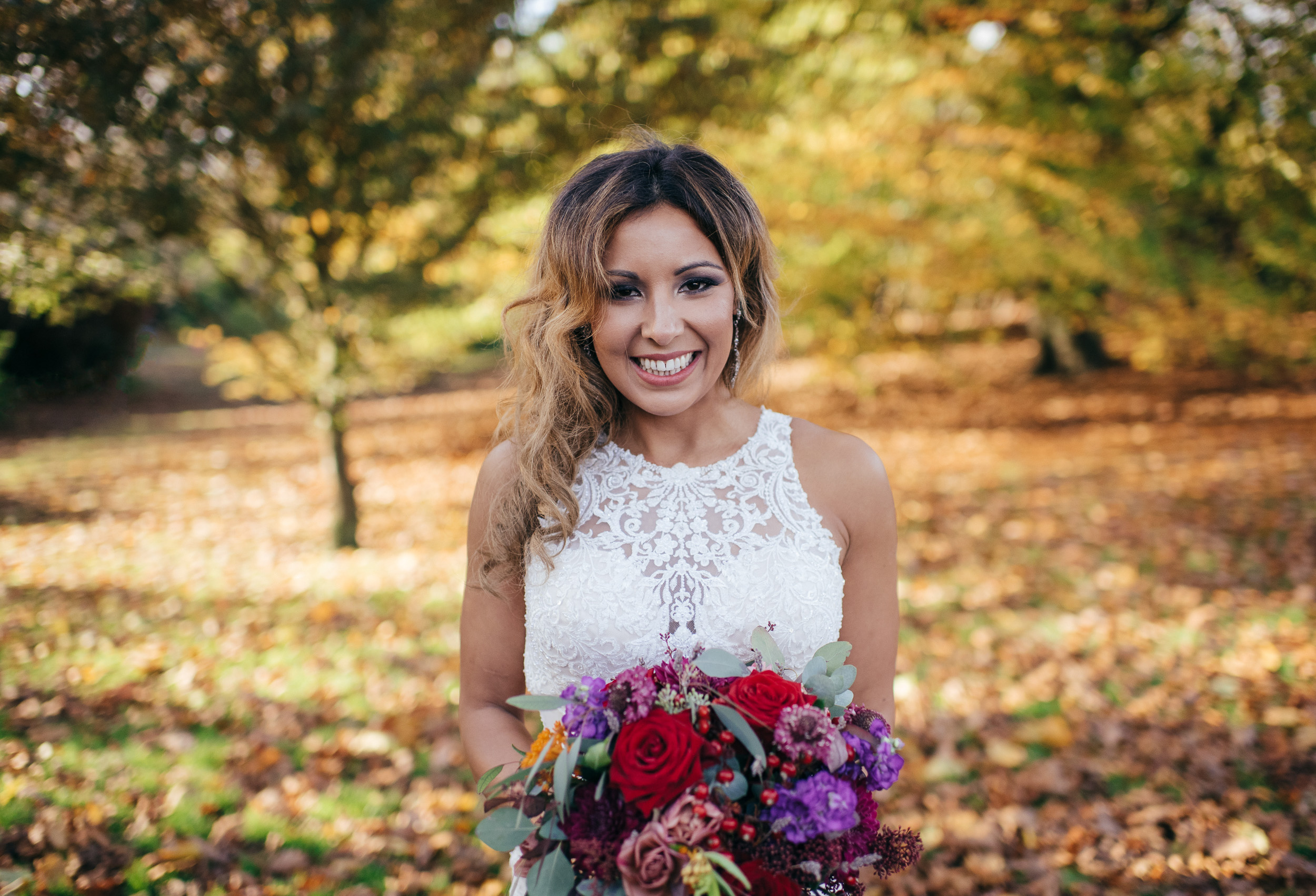 Autumn Wedding Glasgow Botanic Gardens
