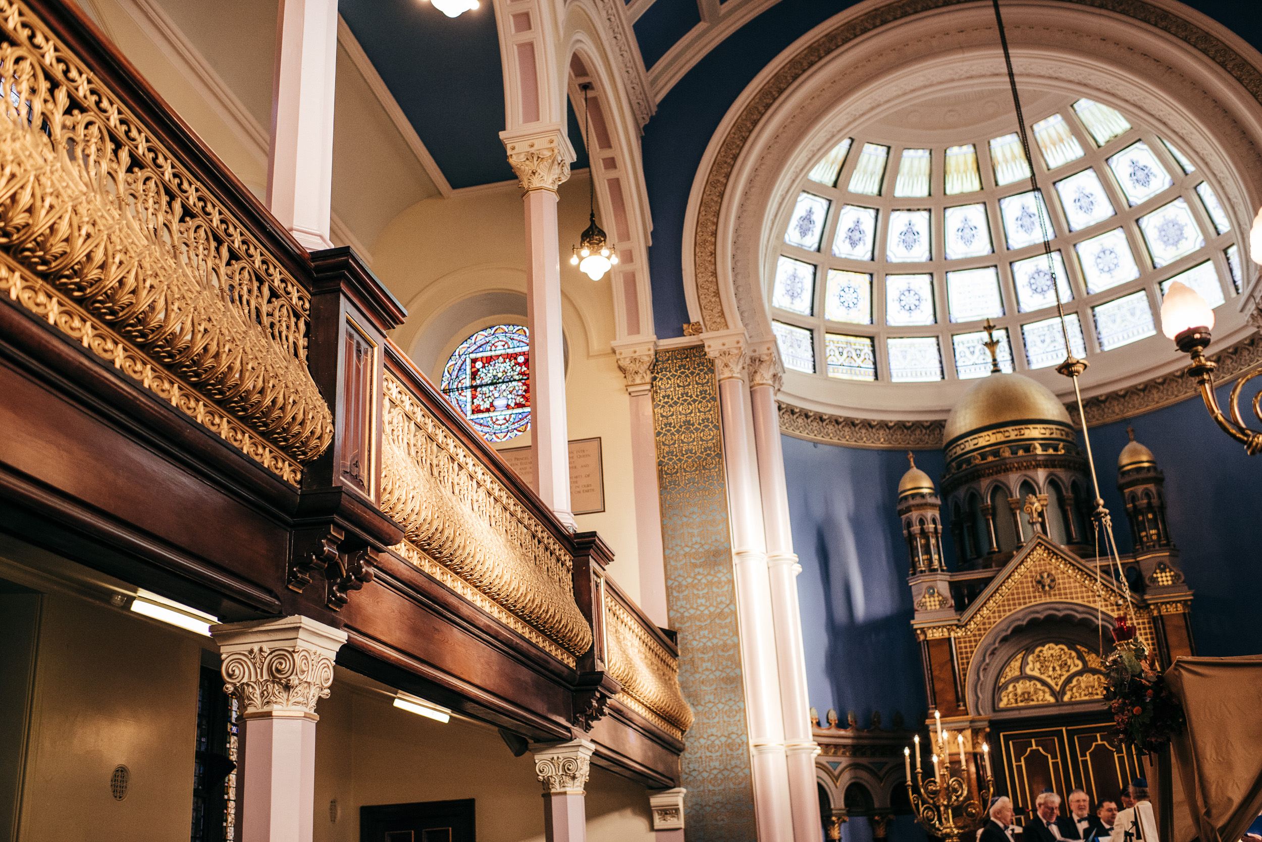 Garnethill Synagogue Wedding