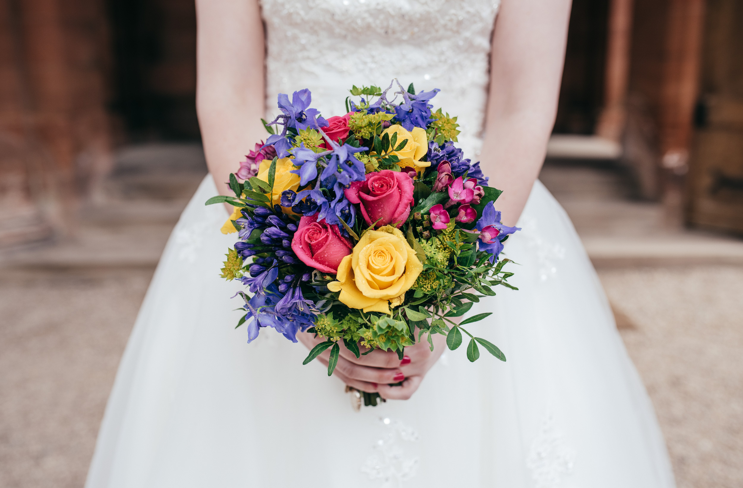 Wedding flowers Mount Stuart