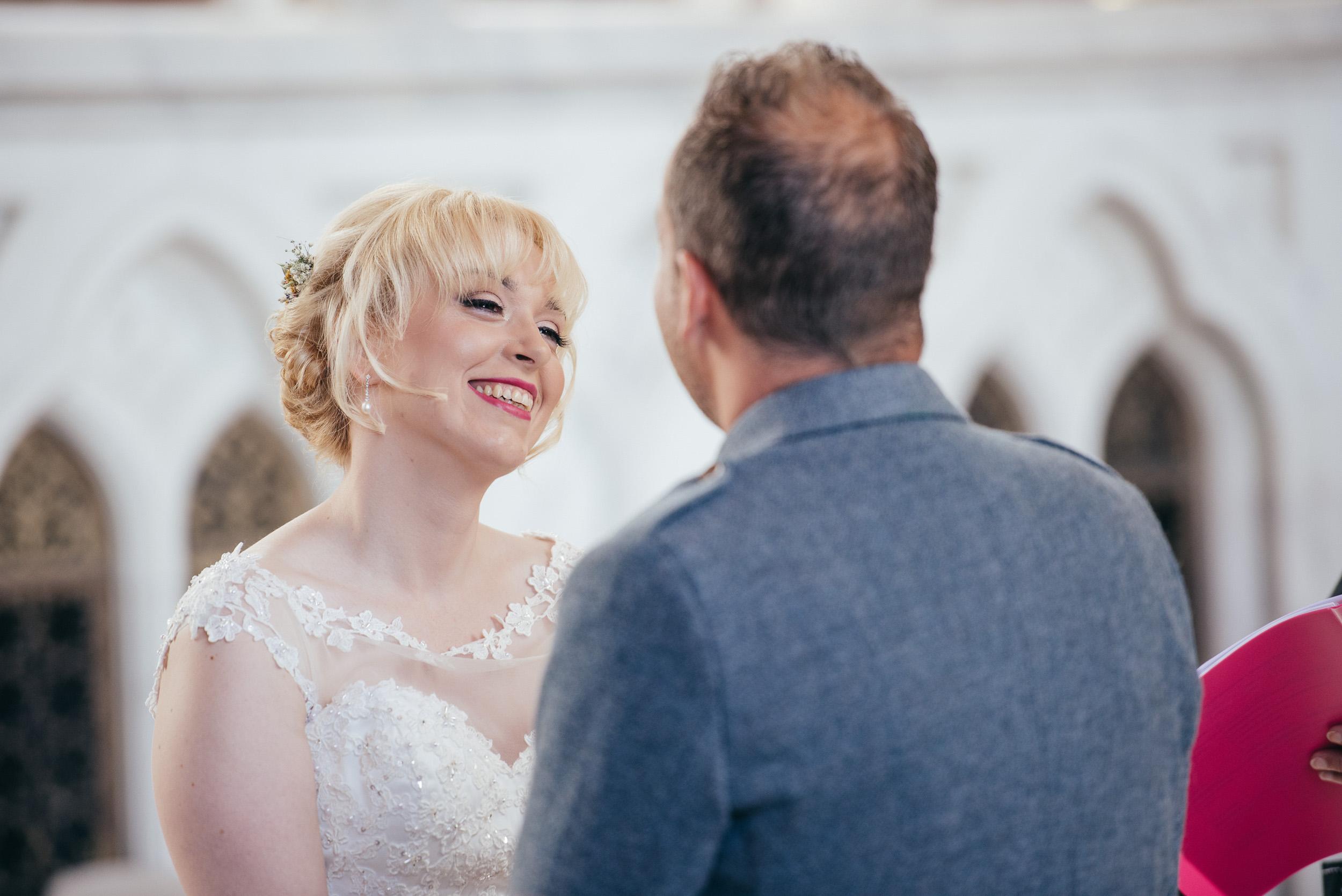Wedding ceremony Mount Stuart