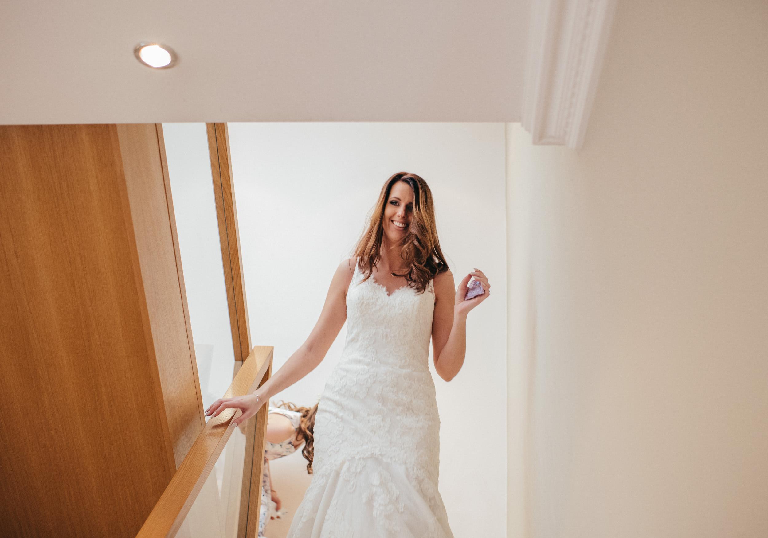 Bride entrance Glasgow