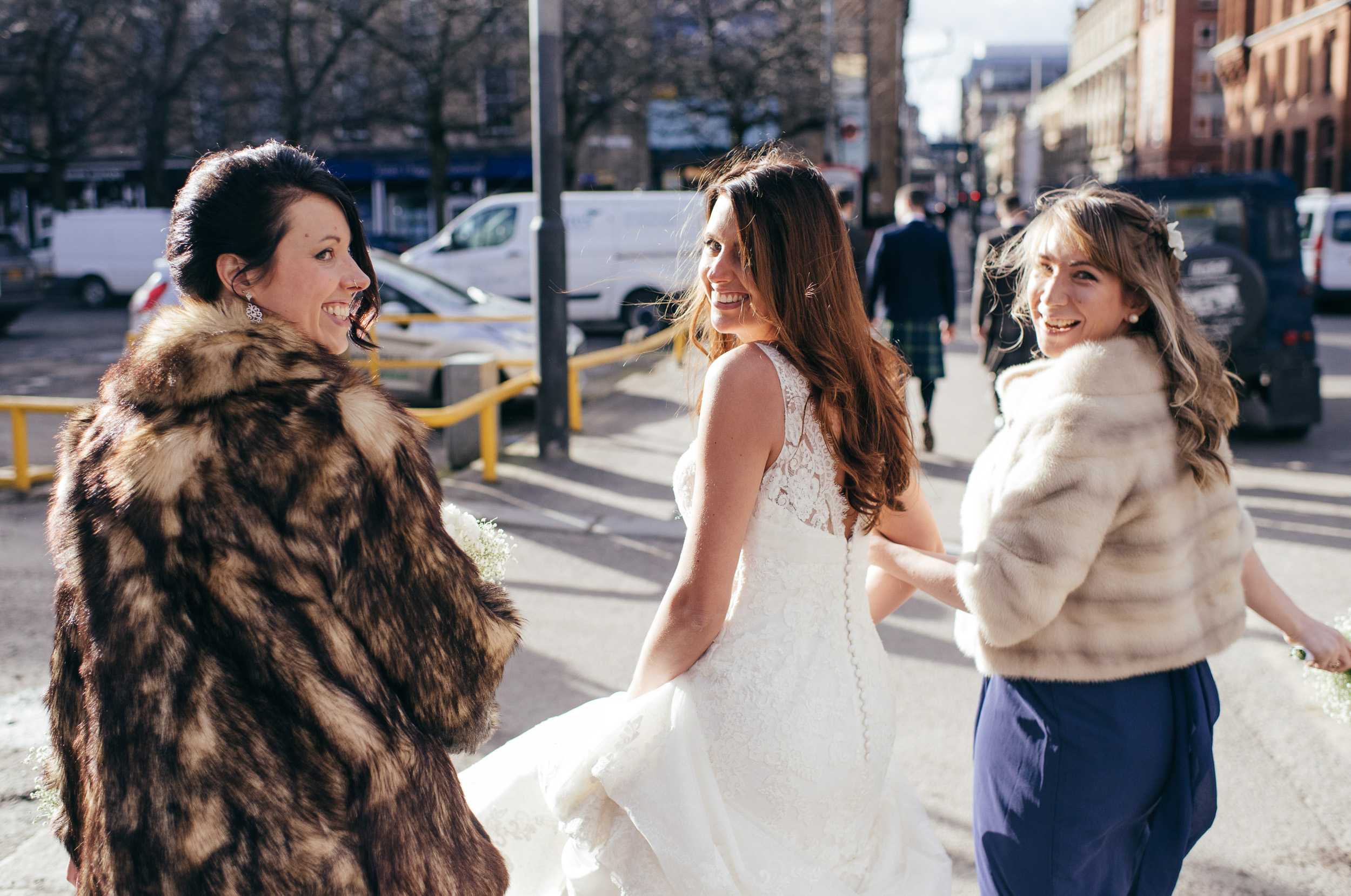 Urban bridesmaids Glasgow