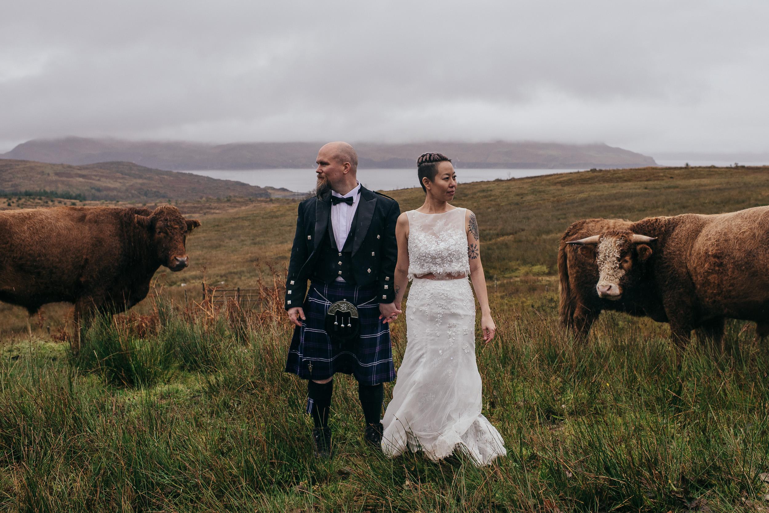 Scottish elopement photographer