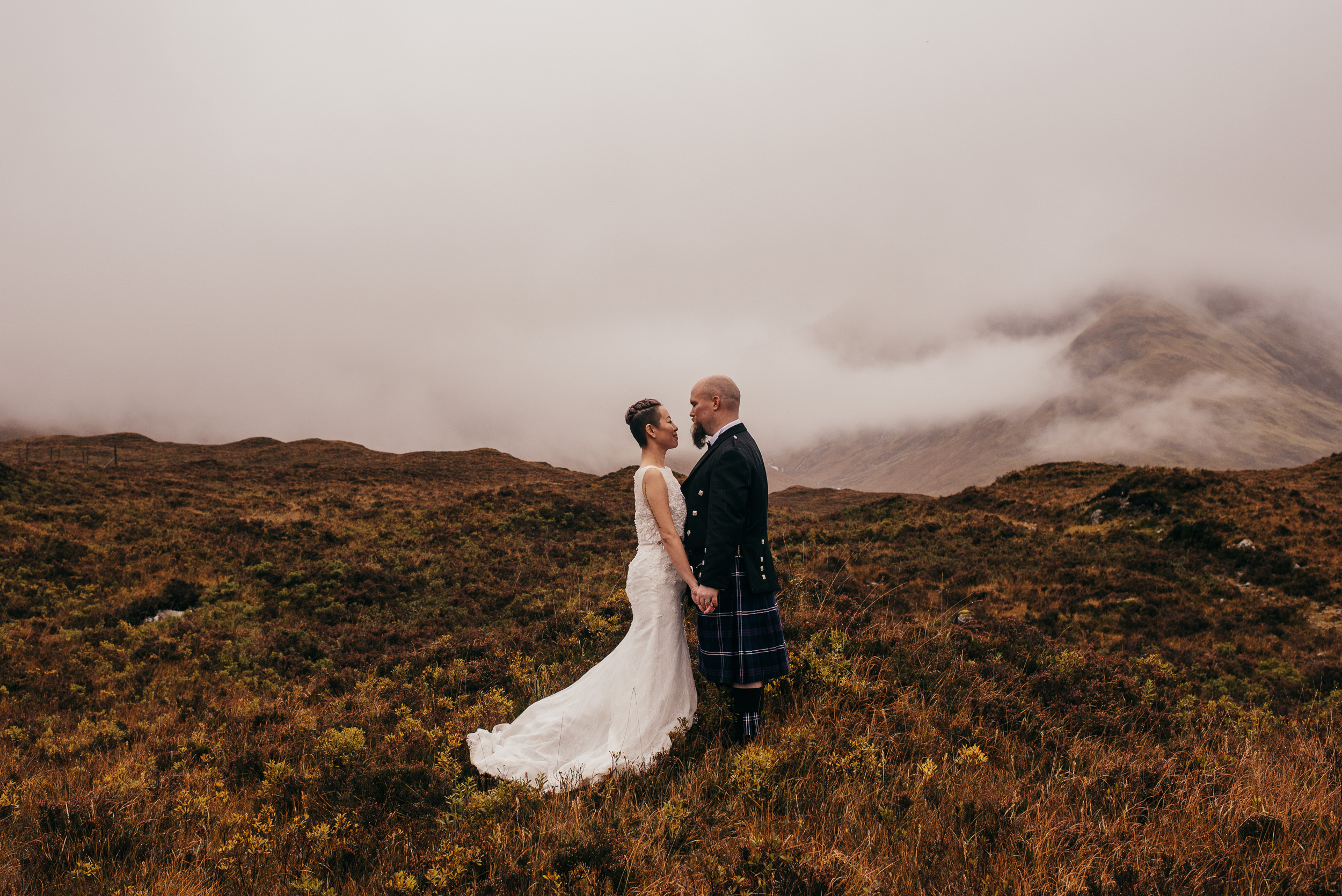 Wet Elopement Isle of Skye