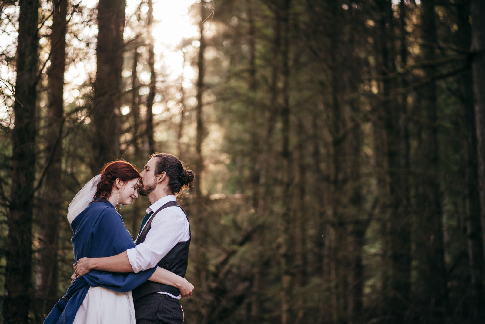 Woodland Pagan Elopement Scotland