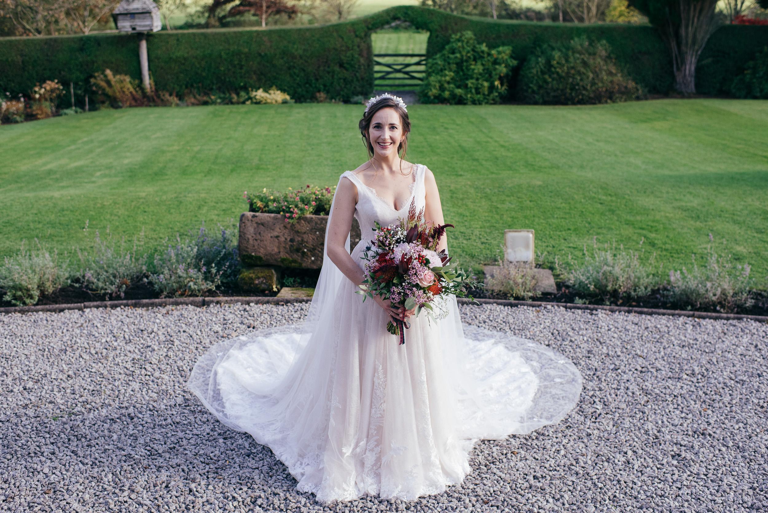 Wedding dress Dalduff Farm