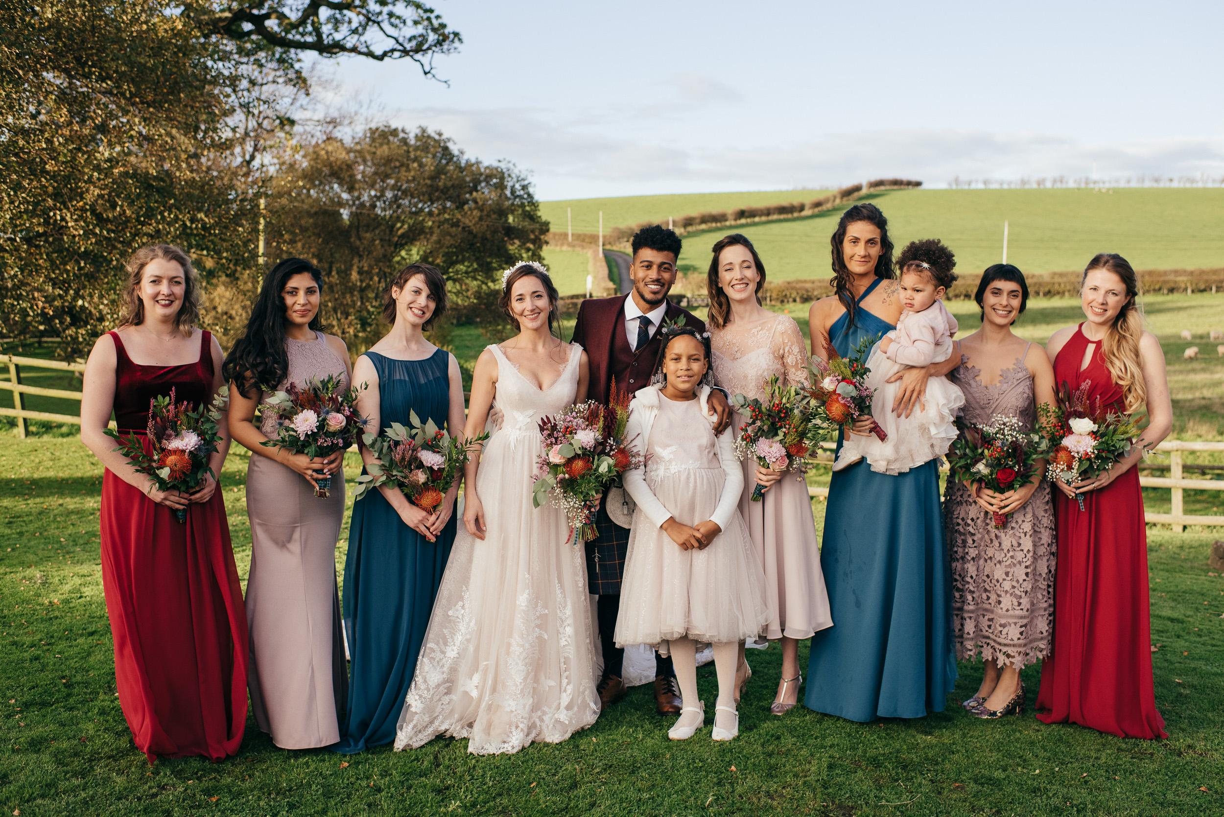 Bridal formal portraits Dalduff