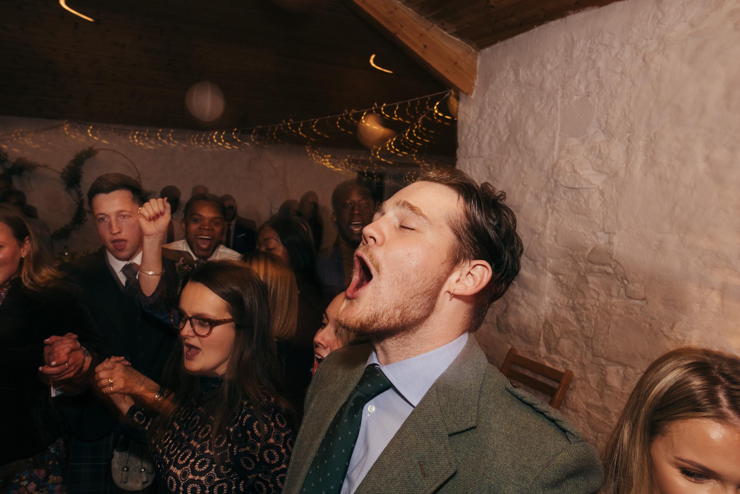 Evening reception Dalduff Barn