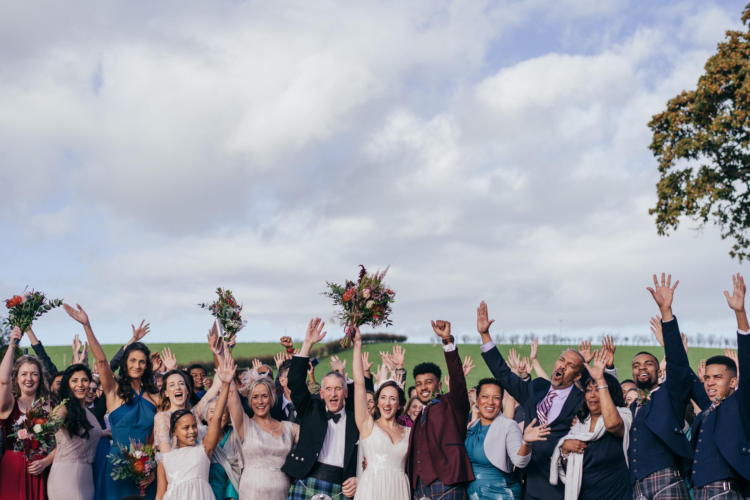Barn At Dalduff Wedding
