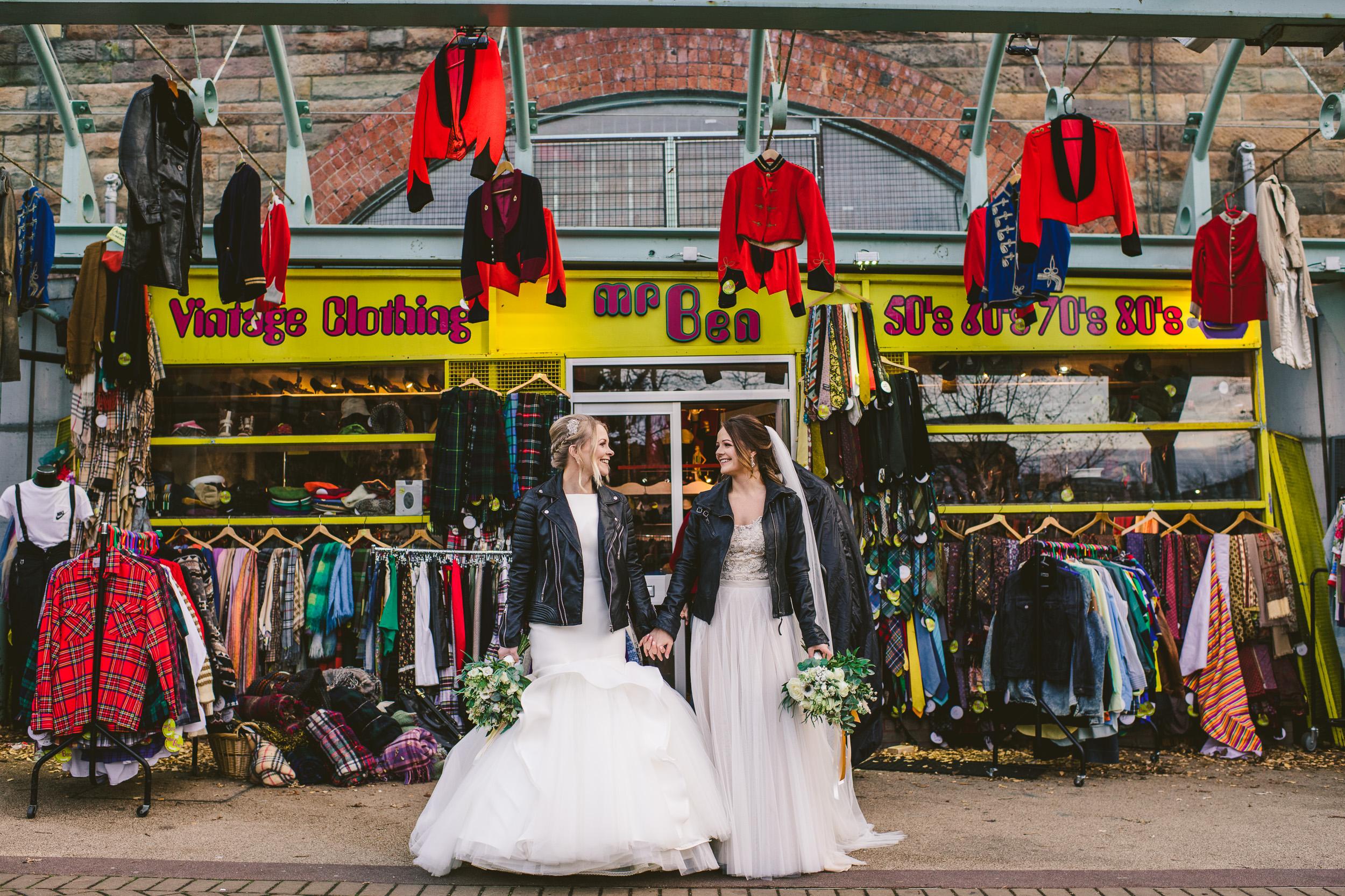 Urban wedding Scotland