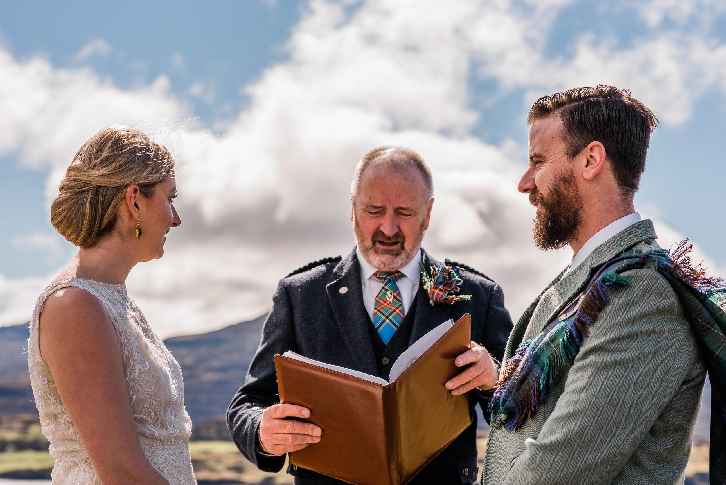 Mountain elopement Scotland