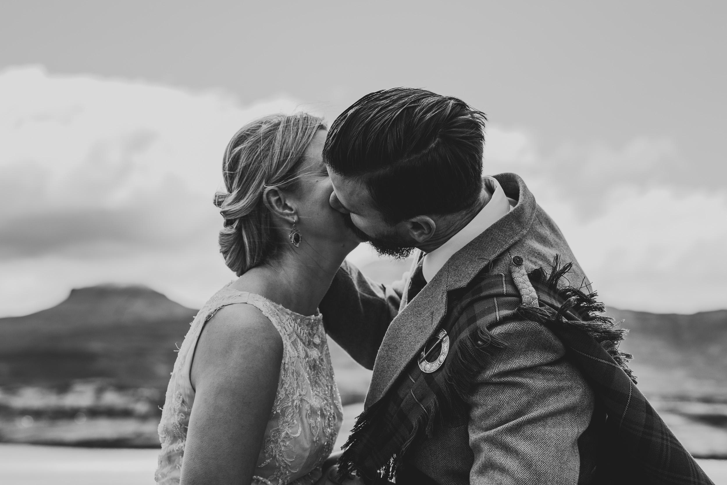 First Kiss Isle of Skye