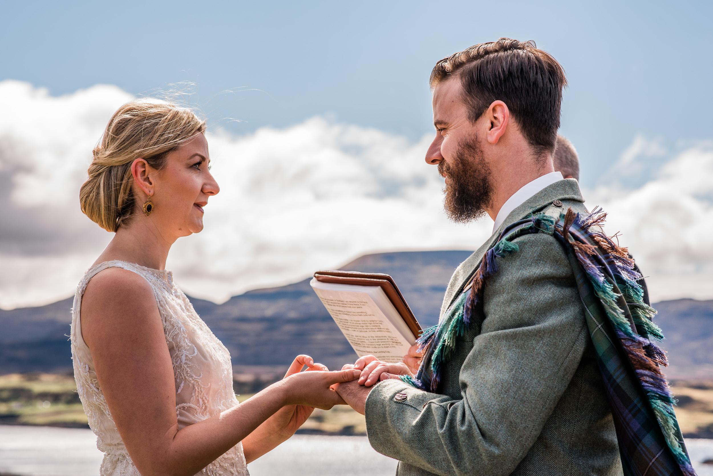 Wedding Vows Skye
