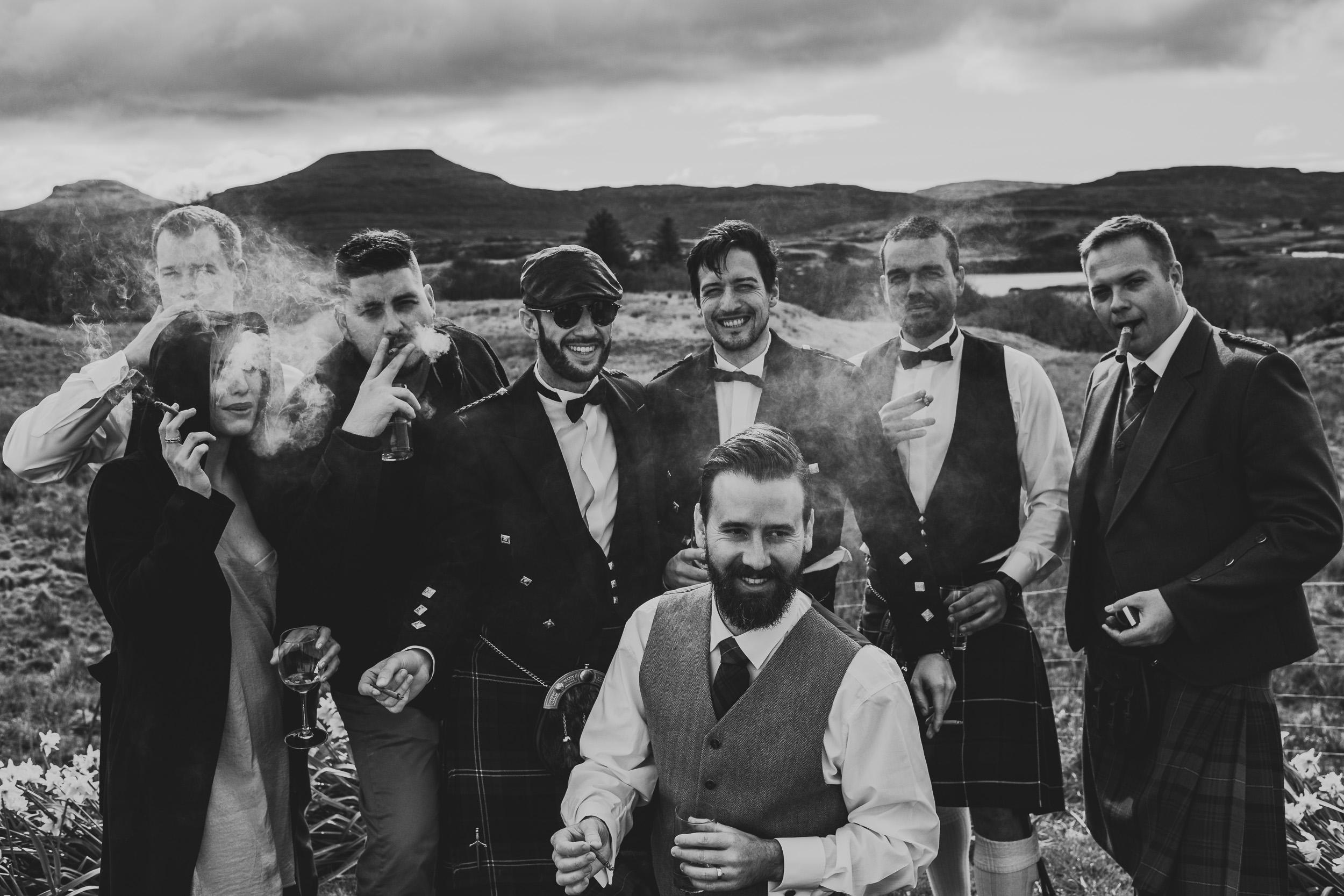 Australian Wedding Party Scotland