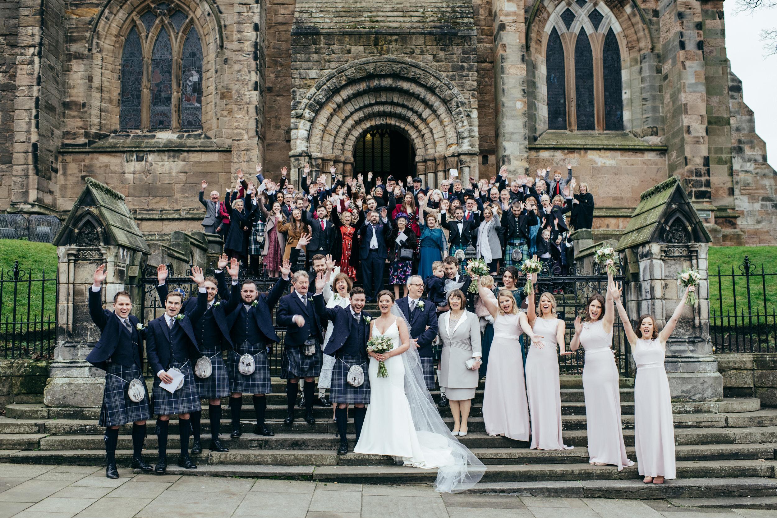 Dunfermline Abbey Wedding
