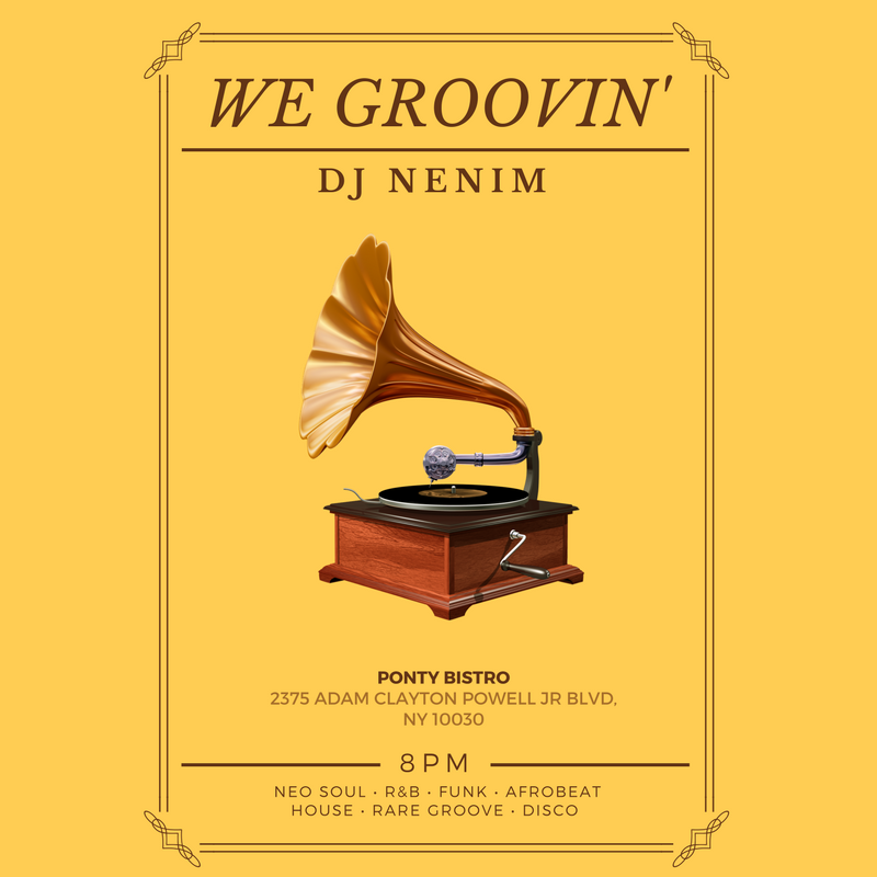 Nenim spins Loungy vibes to a mature and diverse crowd
