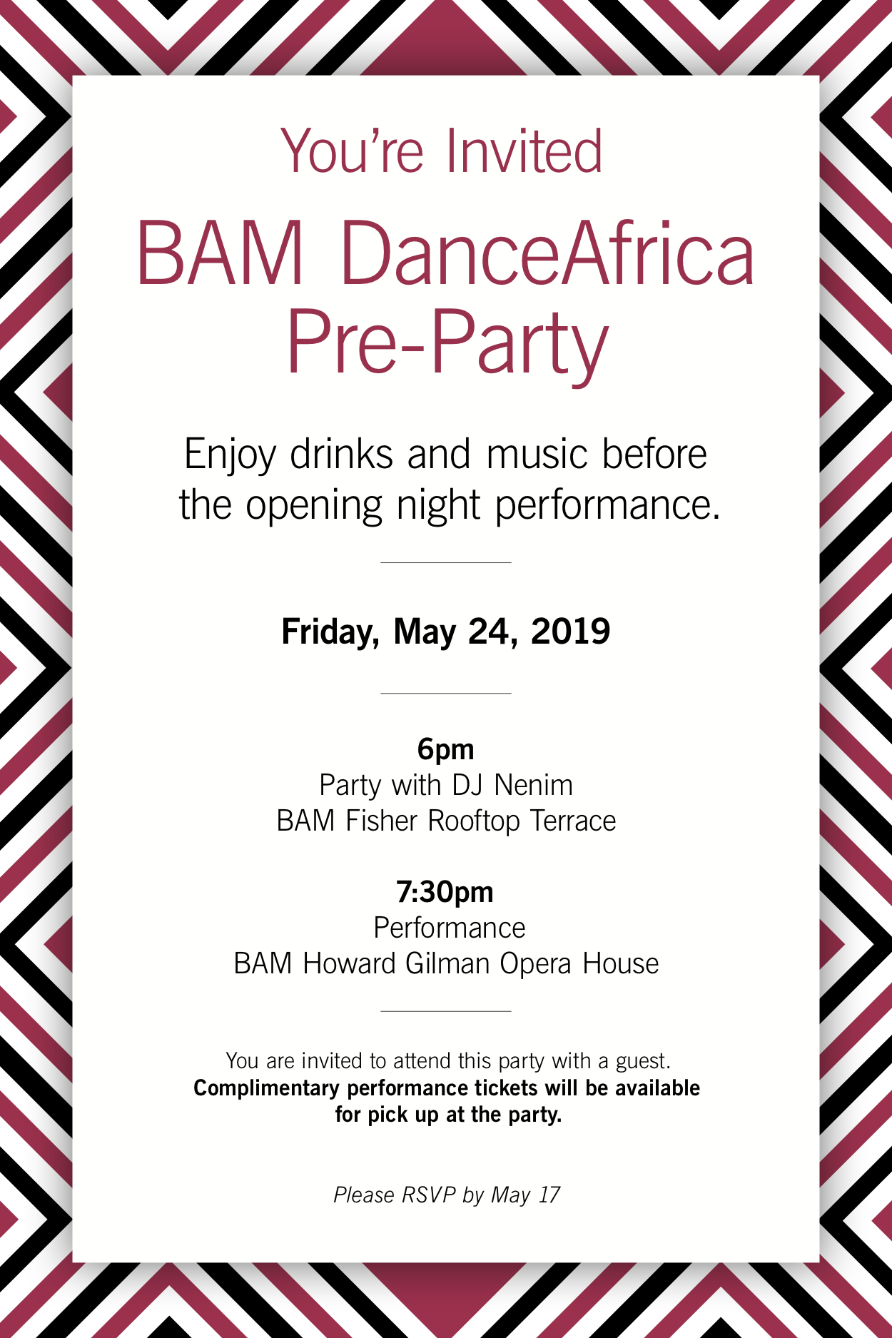 DanceAfrica PreParty Invite.png