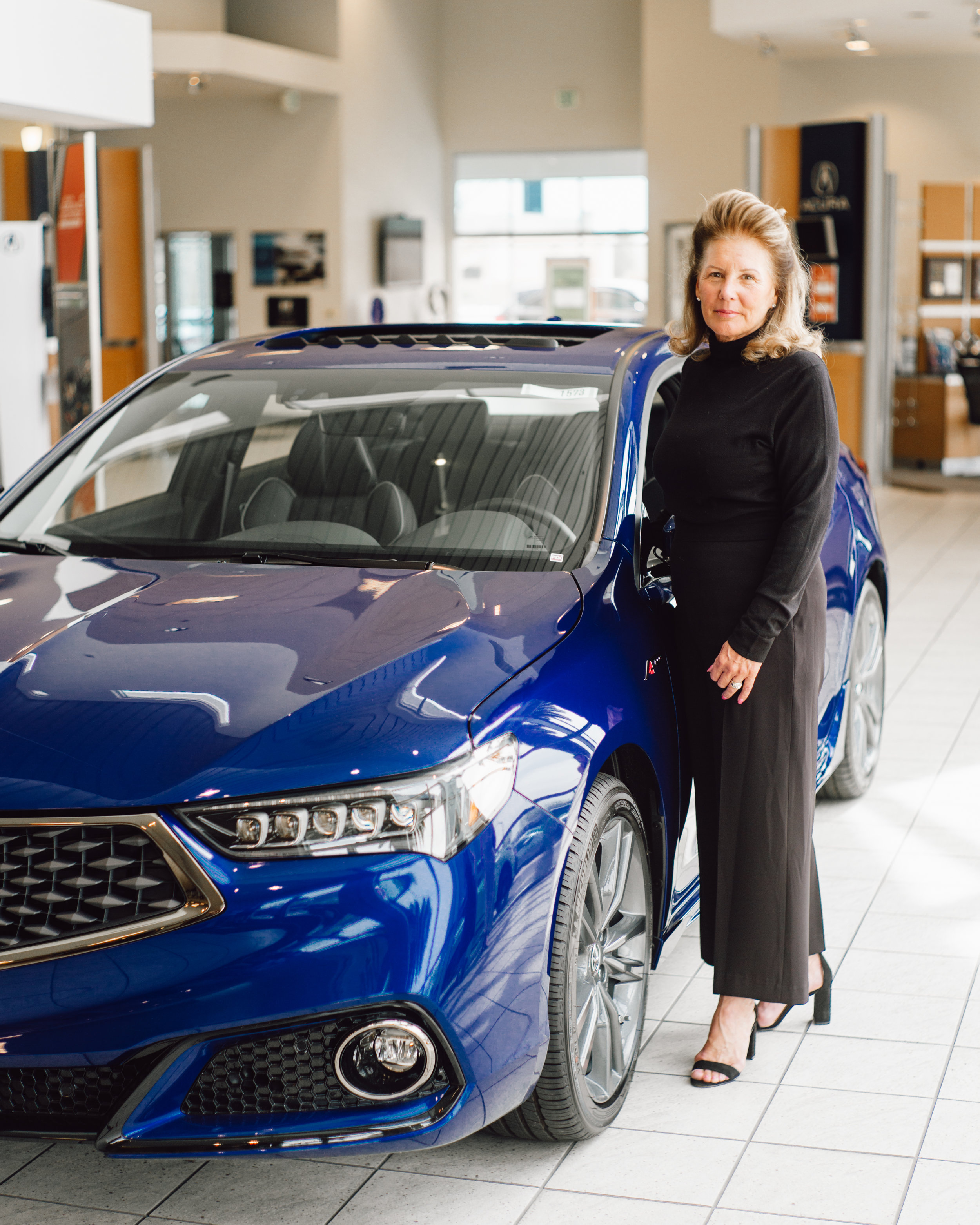 Theanna Stevens, Owner of Fresno Acura