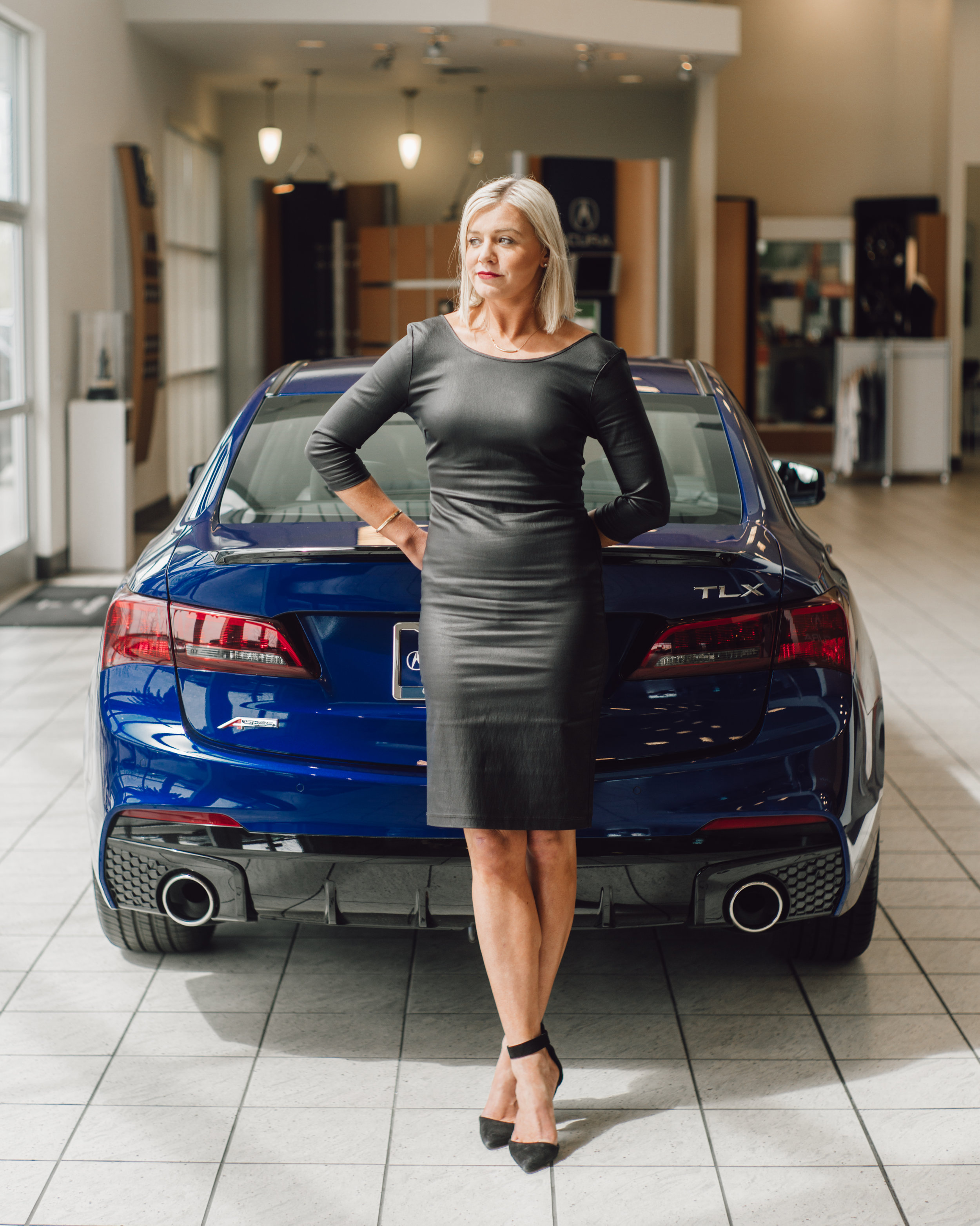 Ellena Woodhams, Compliance and Outreach Director of Fresno Acura