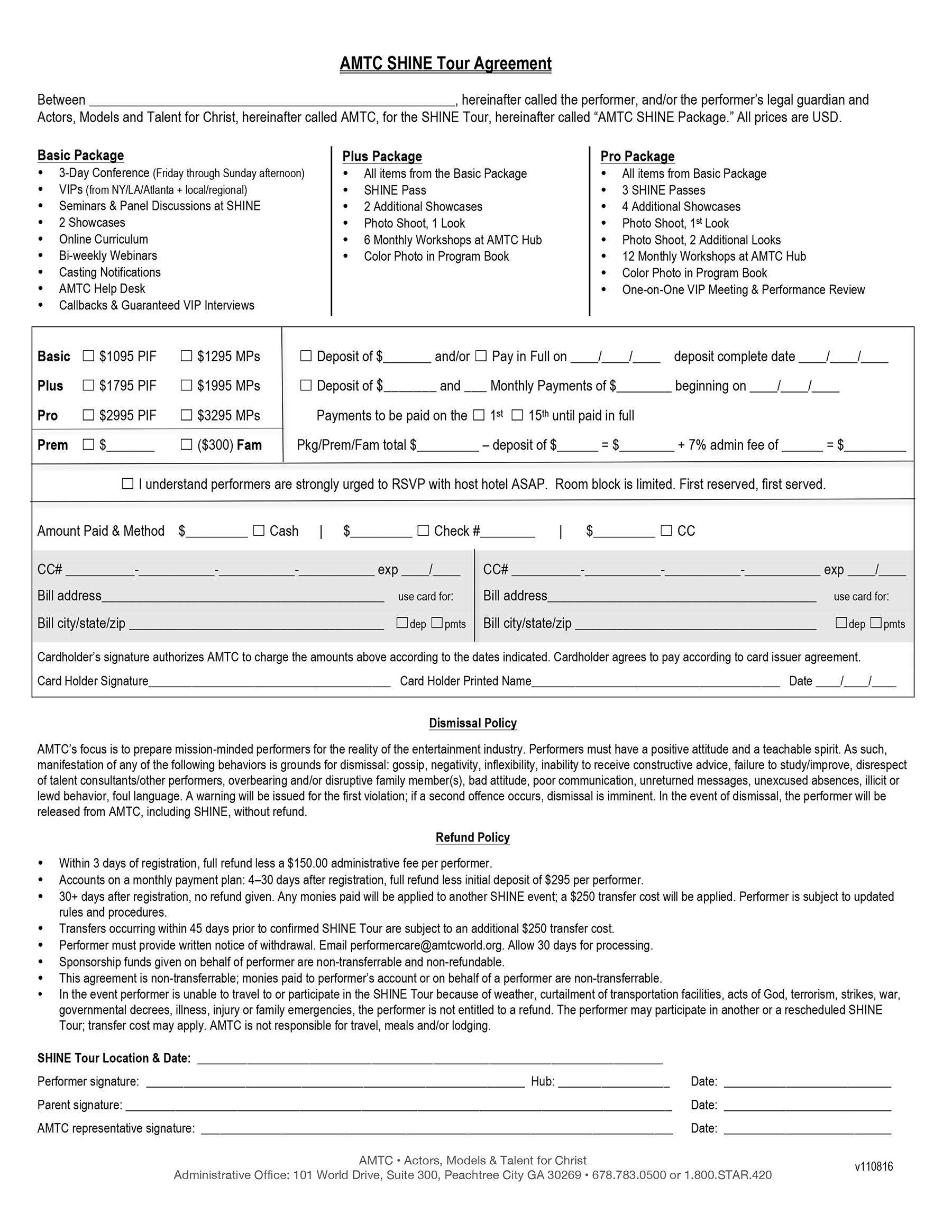 Download   SHINE Tour Agreement