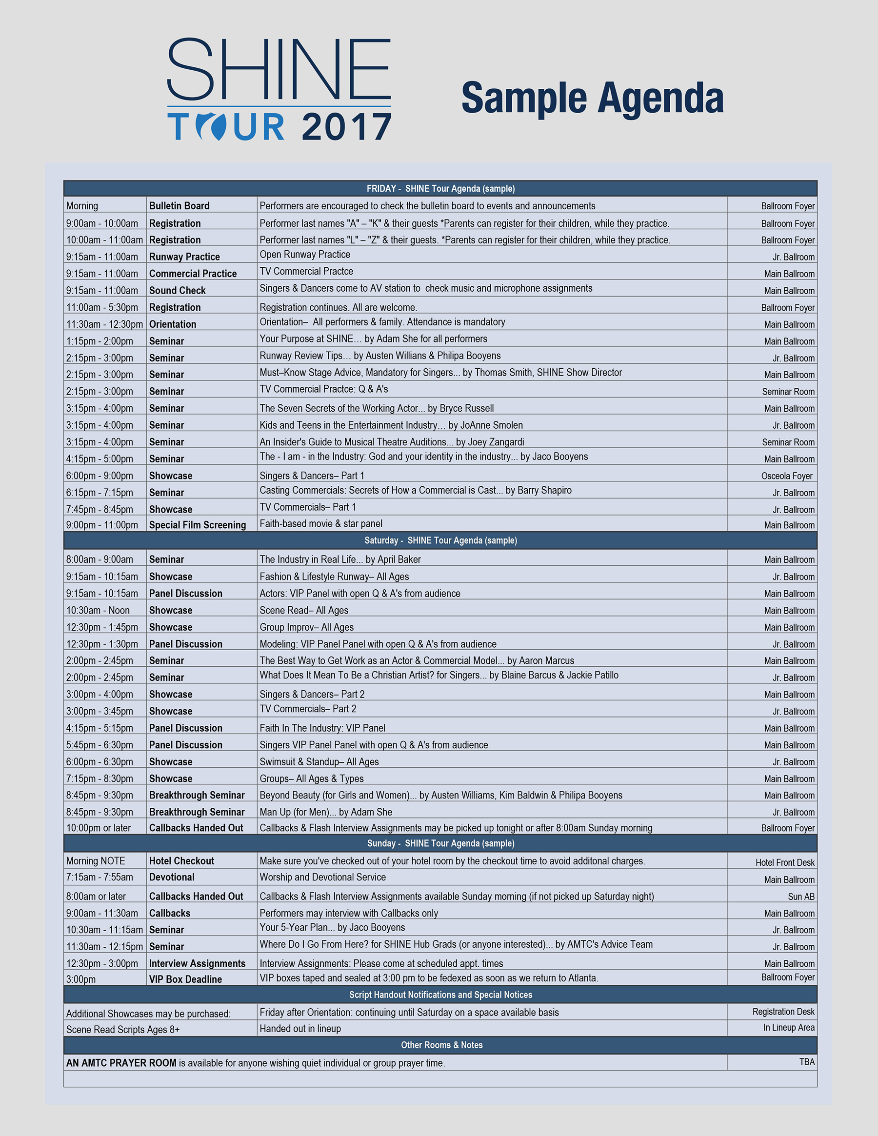 Download Sample Agenda