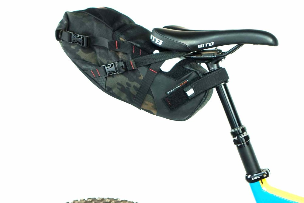 Bedrock Black Dragon Bike Saddle Bags
