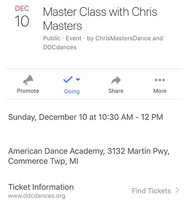 Michigan folks! CMD is making a dance for @ddcdances and will be teaching a class. Come wiggle!!