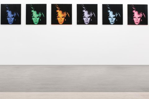 A new venture will offer commercial customers the ability to lease works by well-known artists like Andy Warhol (though probably not these, which were sold in May at Sotheby's)