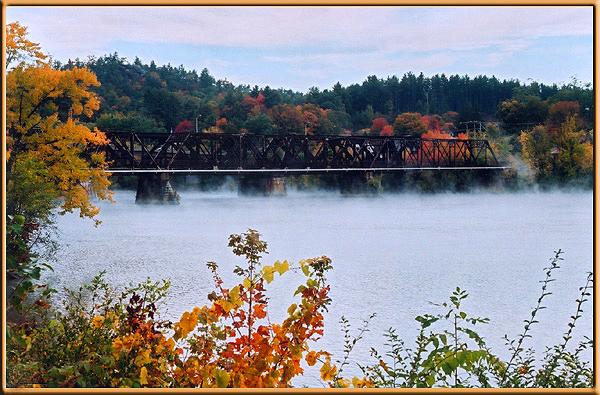 fall morning in NH