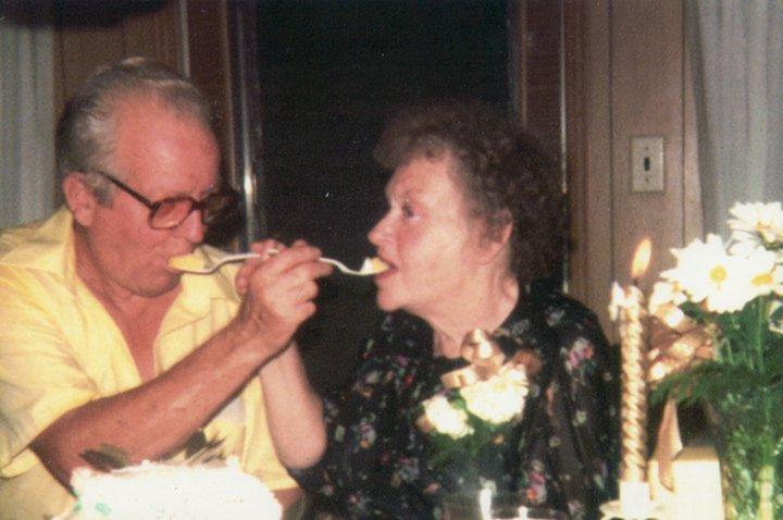 50th Wedding Anniversary, 1980