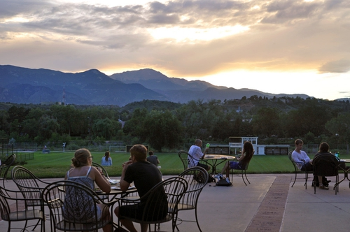(thanks to the interwebs for a photo of the view from Colorado College; maybe next year I'll remember to take one myself...maybe)