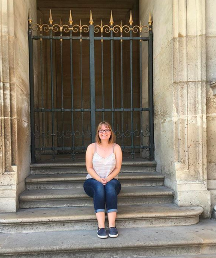 Just a picture of me from when I was in Paris last summer :-)