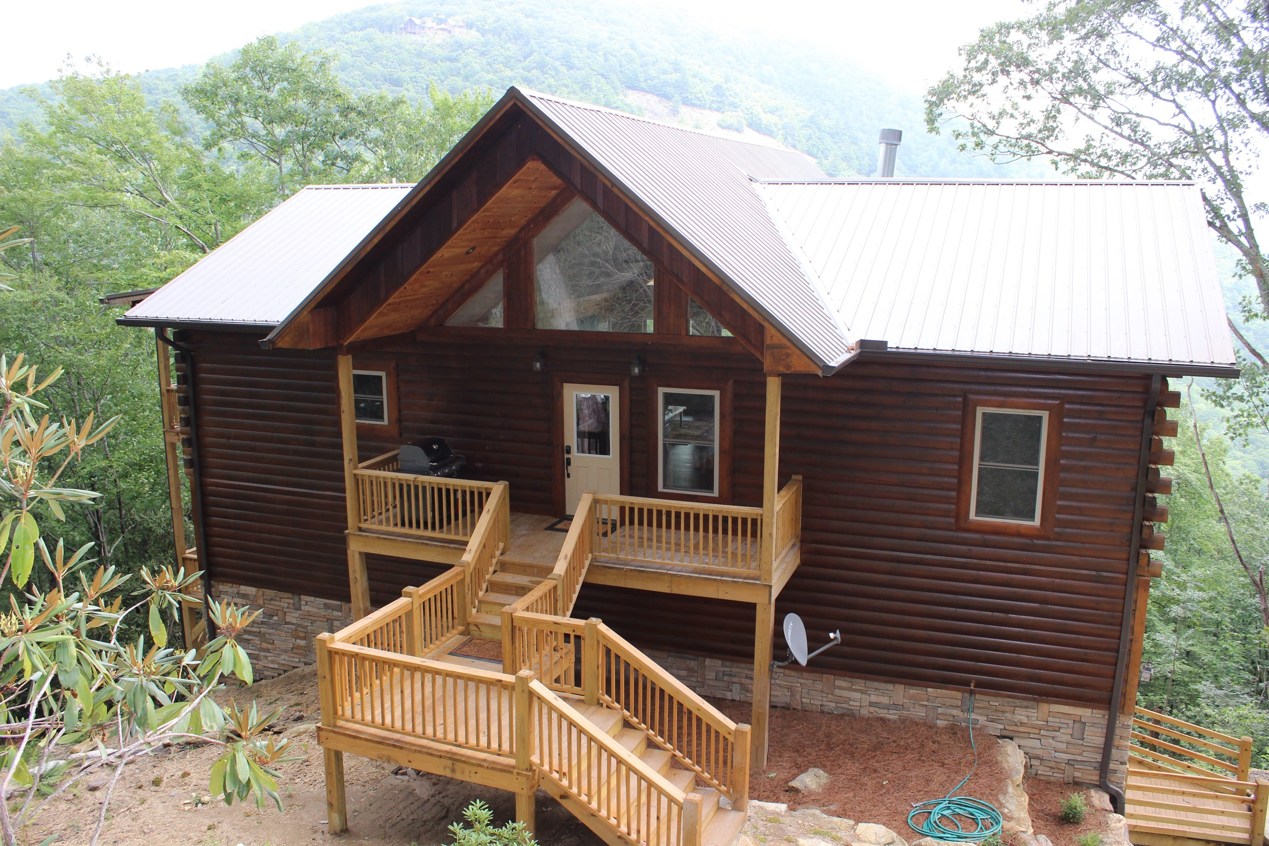 Reflections of Nature   Cashiers Log Cabin    Book Now