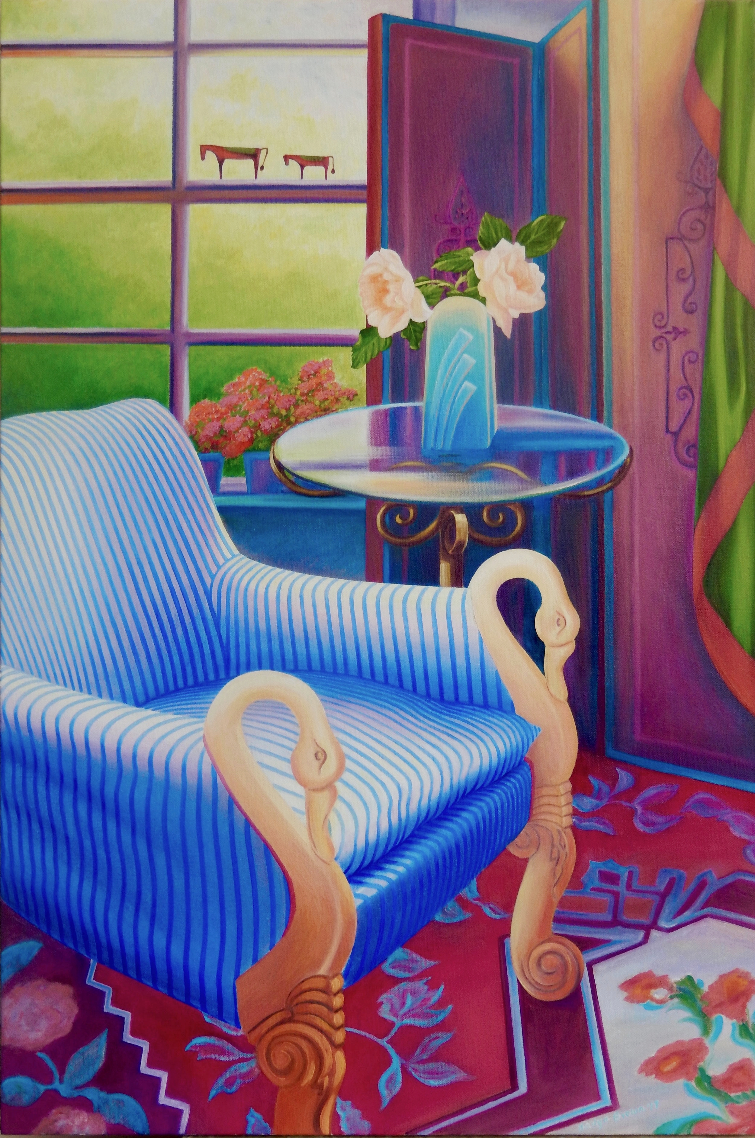 Josephine's Swan Chair