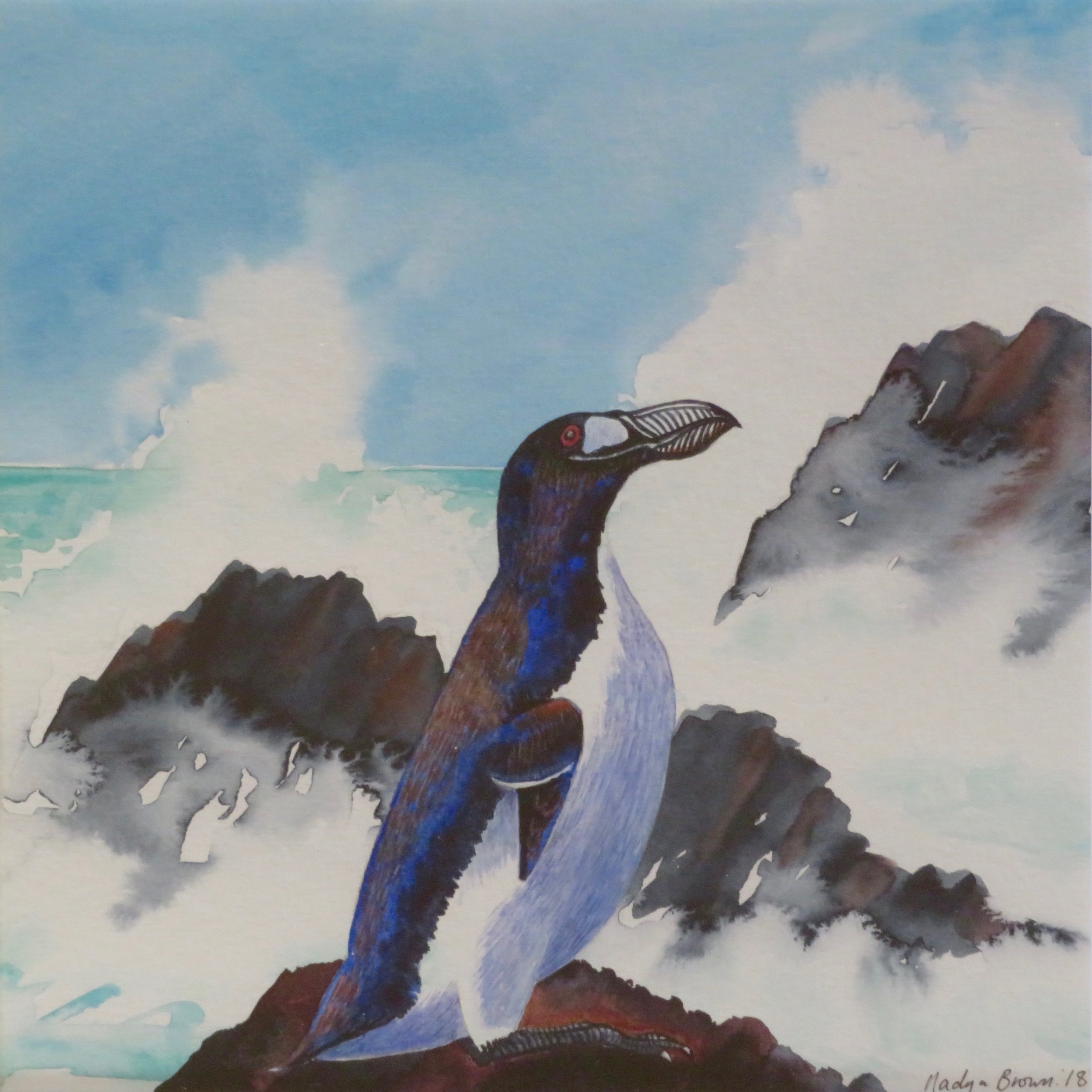 Great Auk, extinct