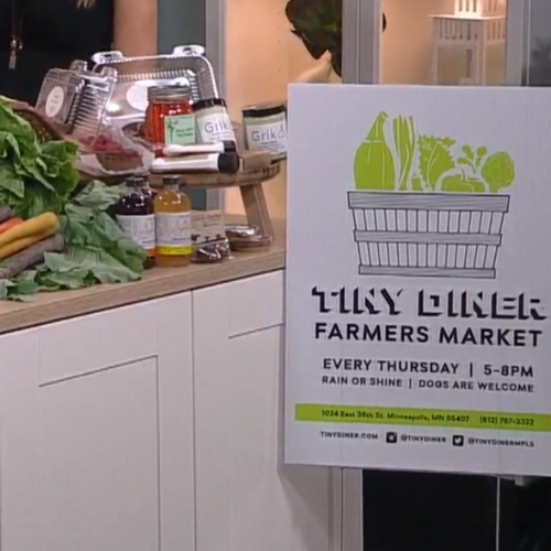 Tiny Diner Farmers Market Open Now In Powderhorn - WCCO – July 5, 2017
