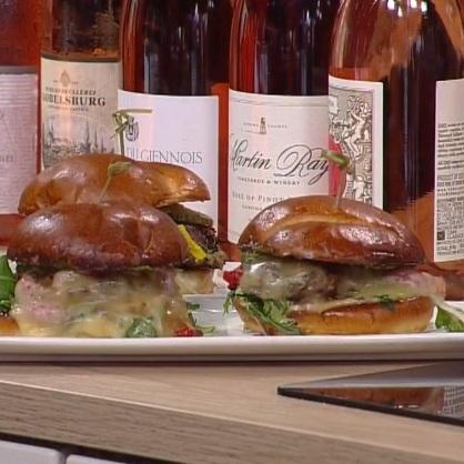Burgers and Rosé    CBS Minnesota-WCCO News—June 7, 2019