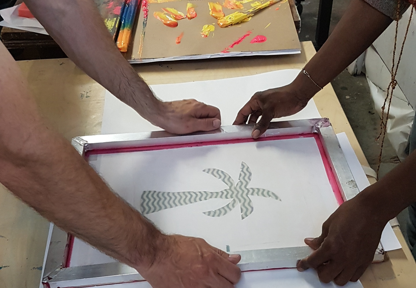 Screenprinting Workshop, 2016