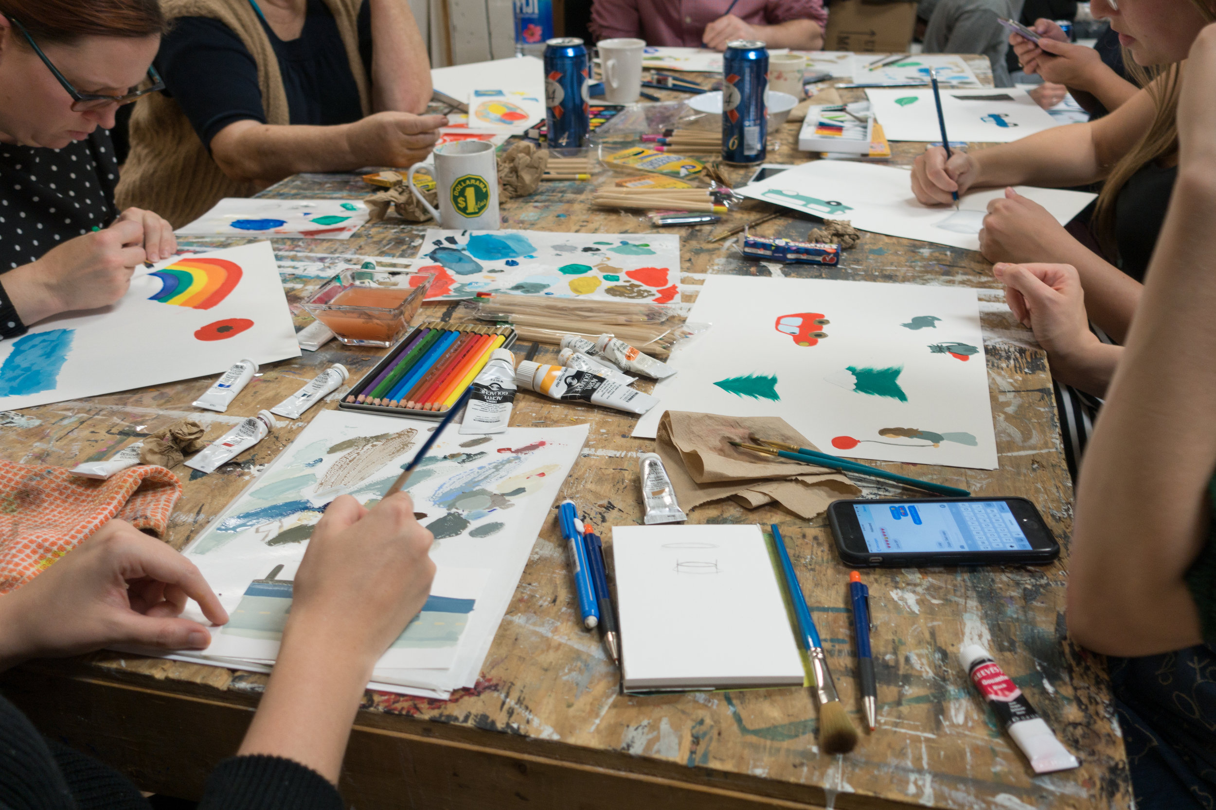 Illustration Workshop, 2015