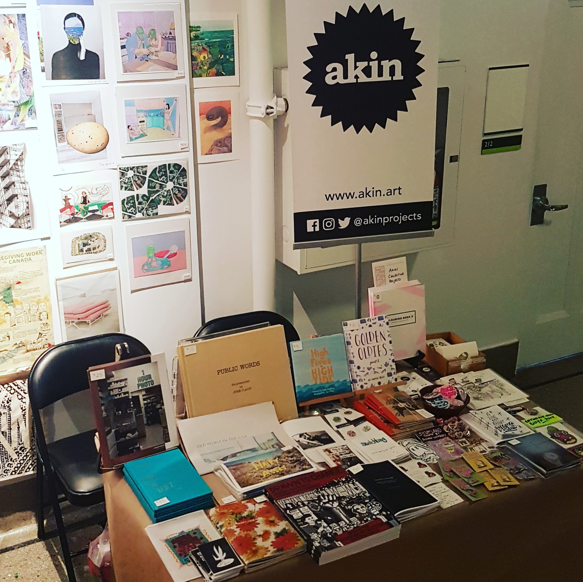 Toronto Art Book Fair, 2017