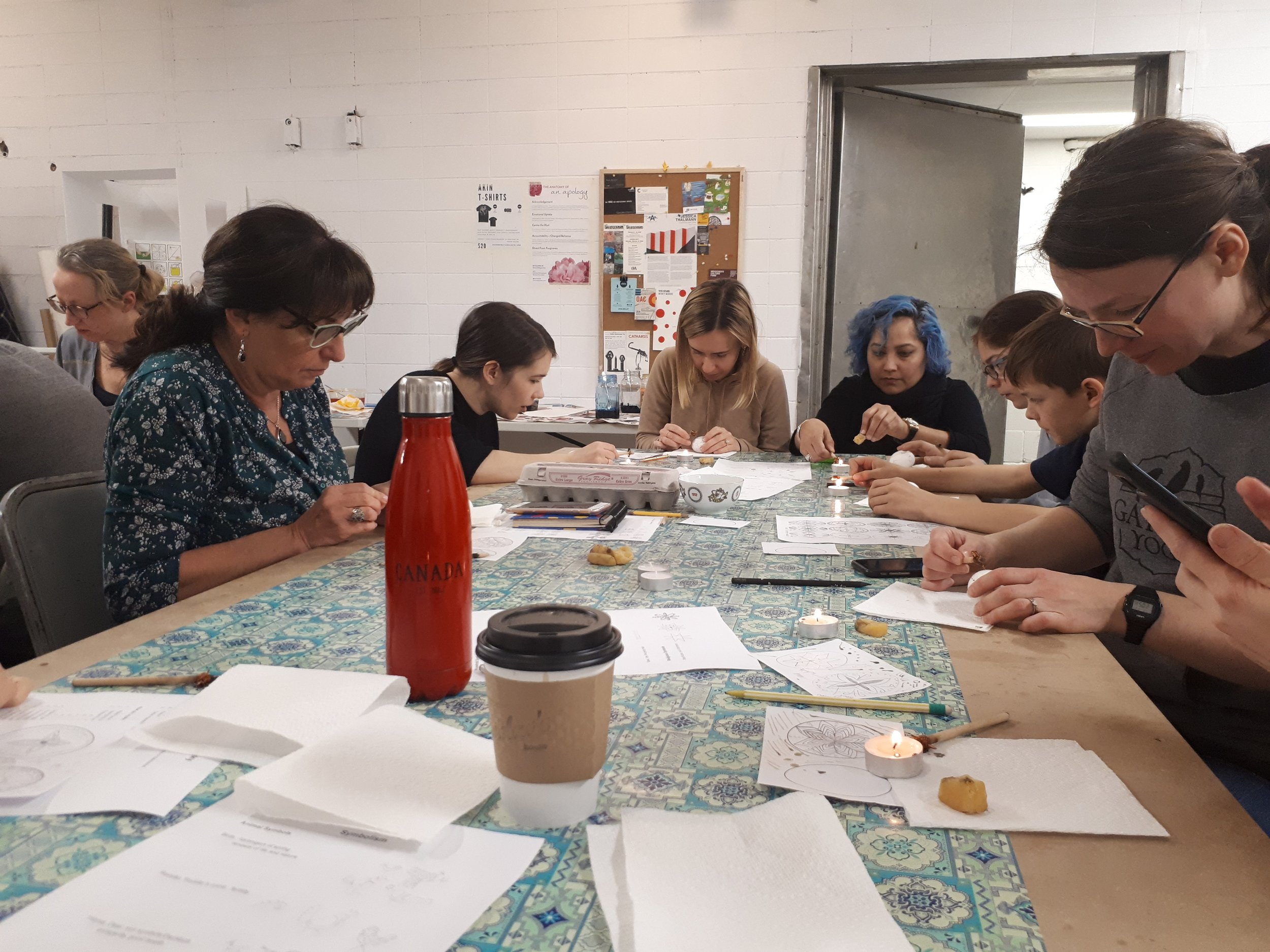 Pysanky Egg Decorating Workshop, 2018