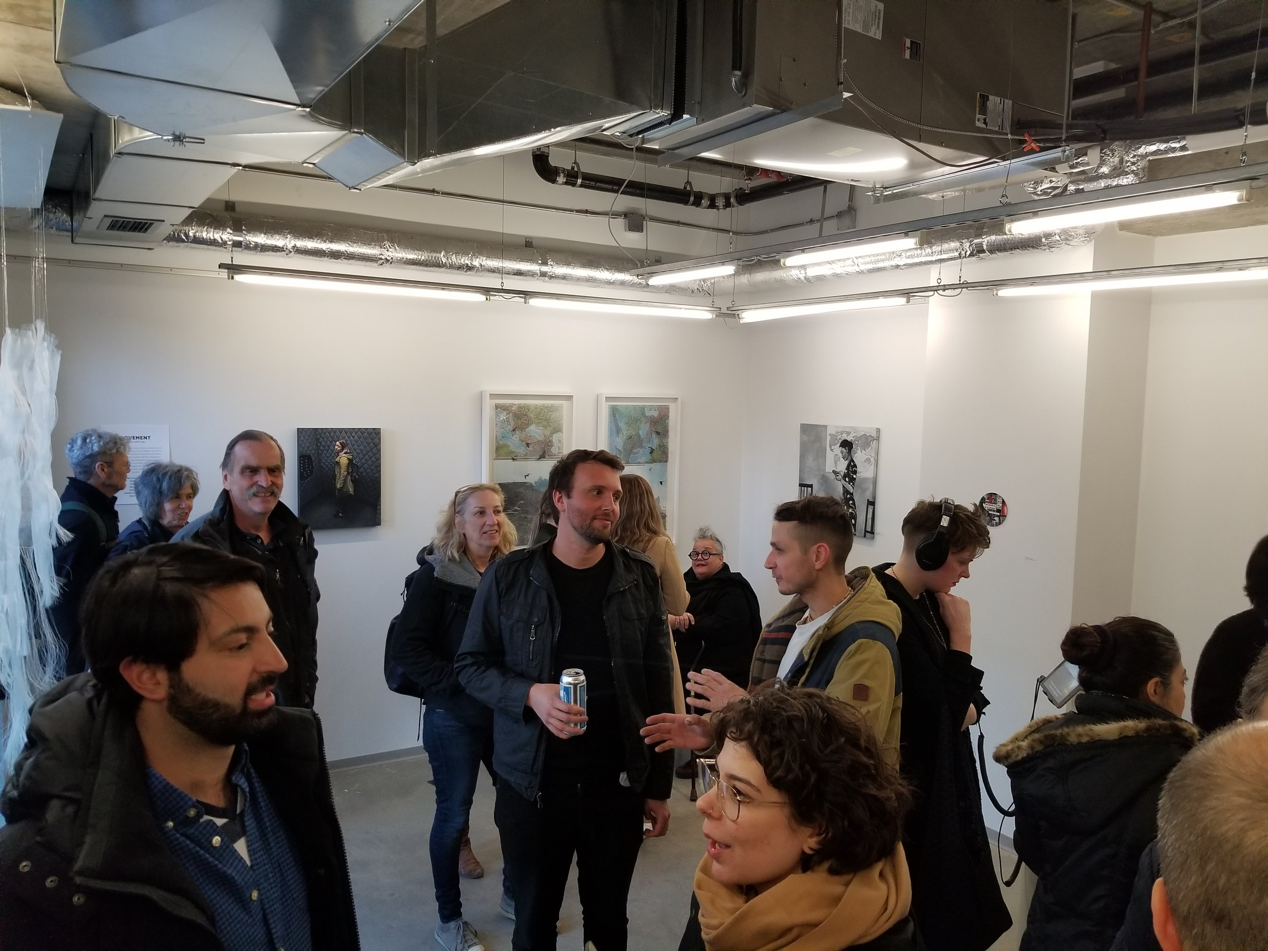 REMOTE Gallery launch party, 2019